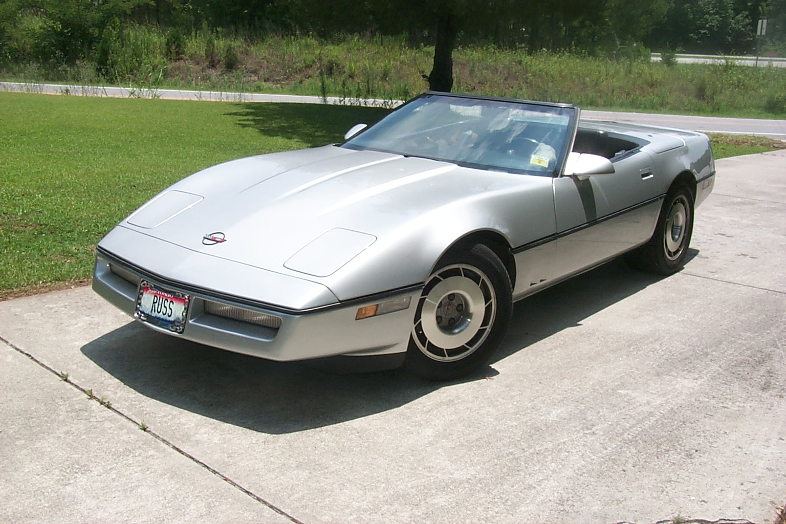 Cars chevrolet corvette c4 convertible 1990