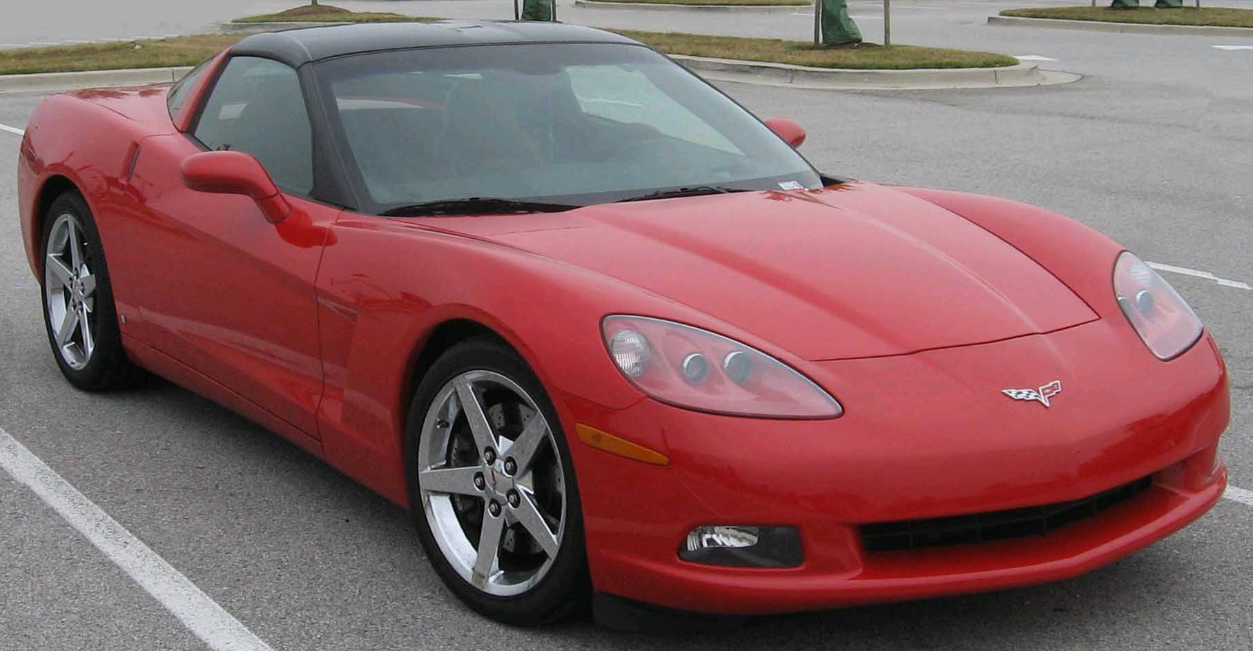 Cars chevrolet corvette c5 coupe 2003