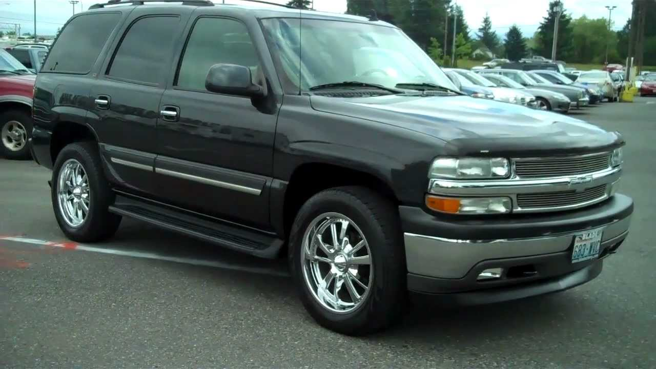 Cars chevrolet tahoe (gmt840) 2002 #7