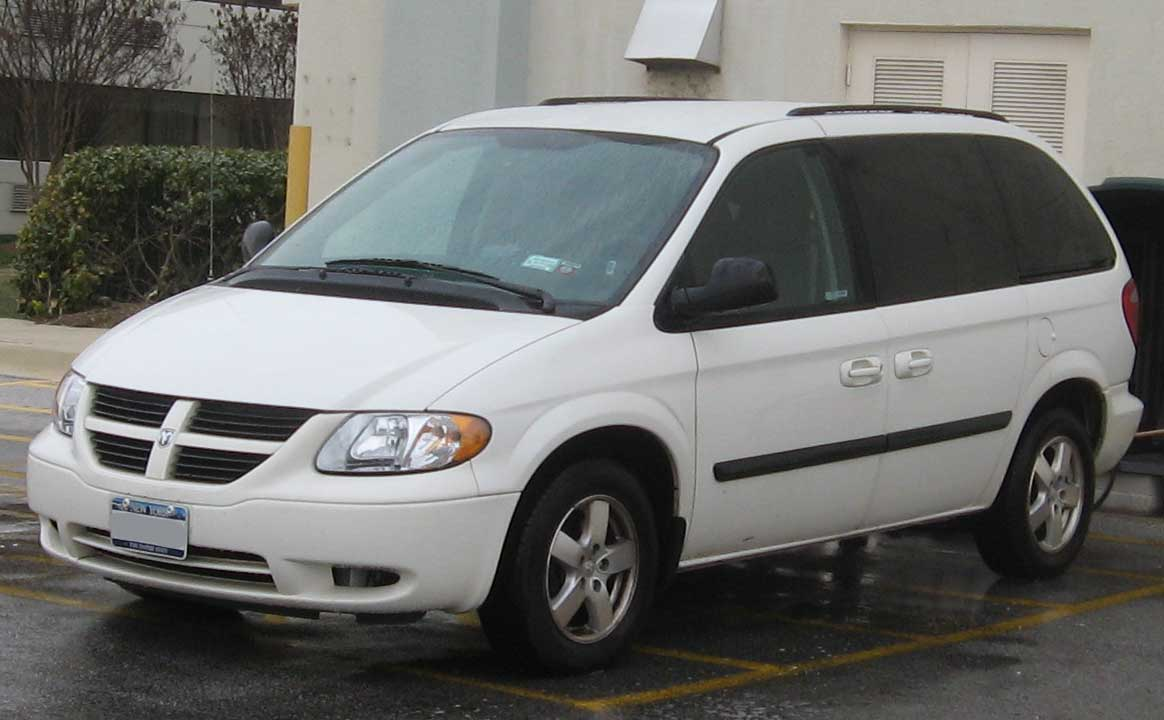 Cars dodge caravan (_iv_) 2003