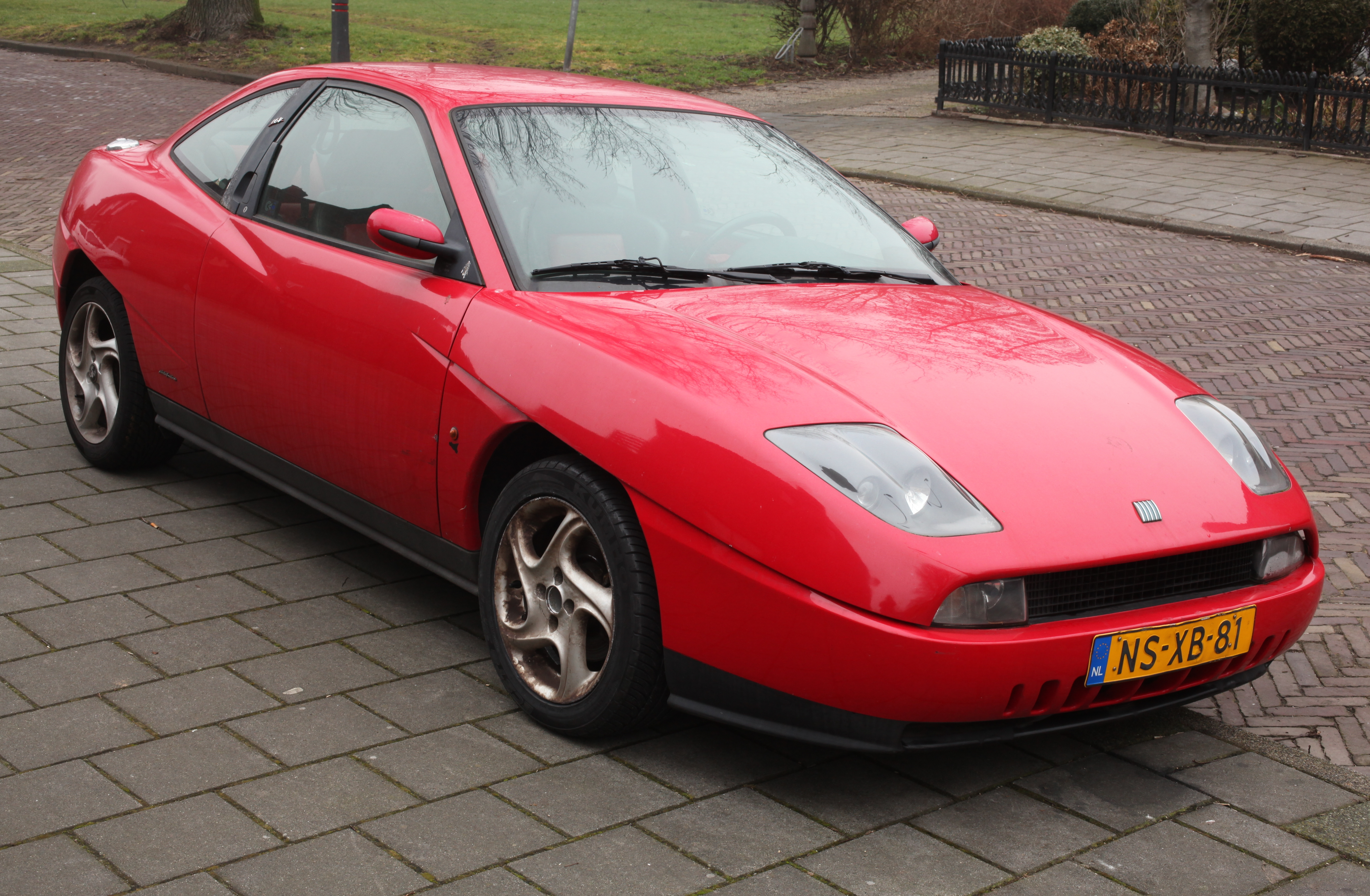 Cars fiat coupe #10