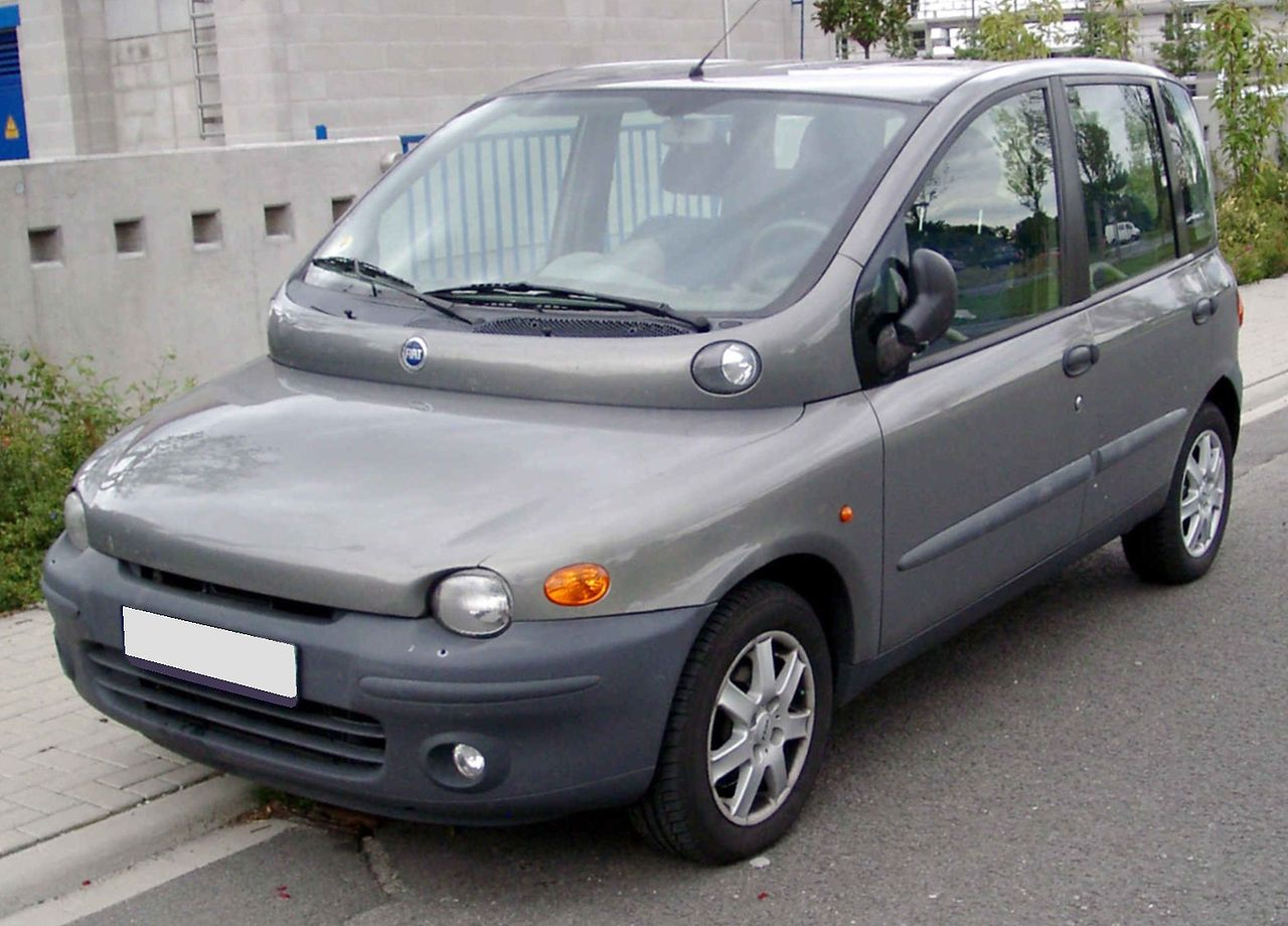 Cars fiat multipla