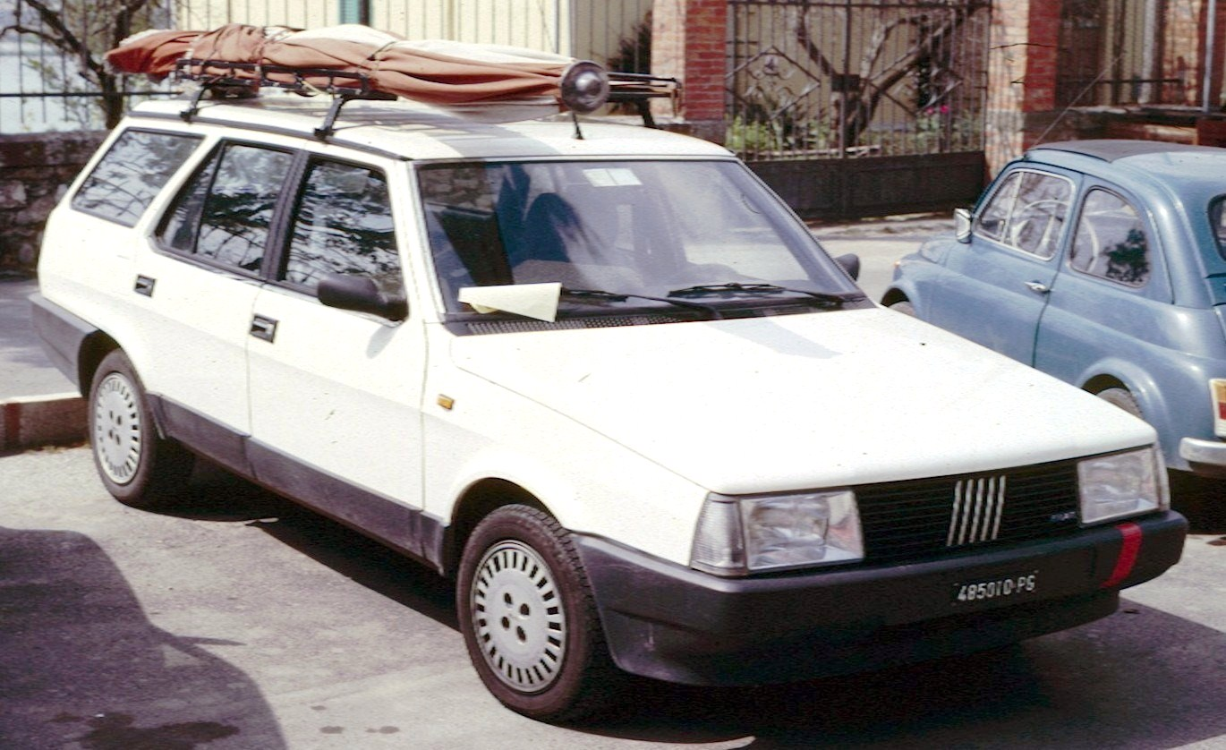 Cars fiat regata #2