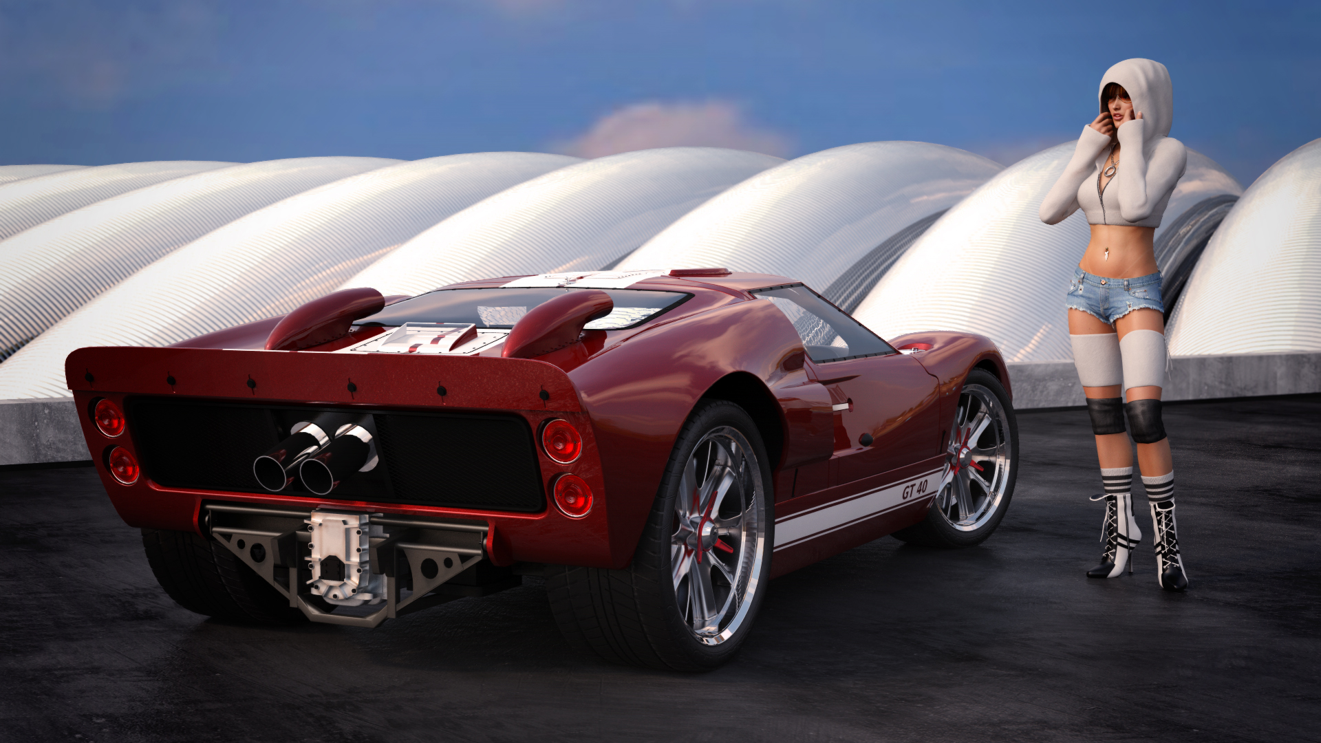Cars ford gt #12