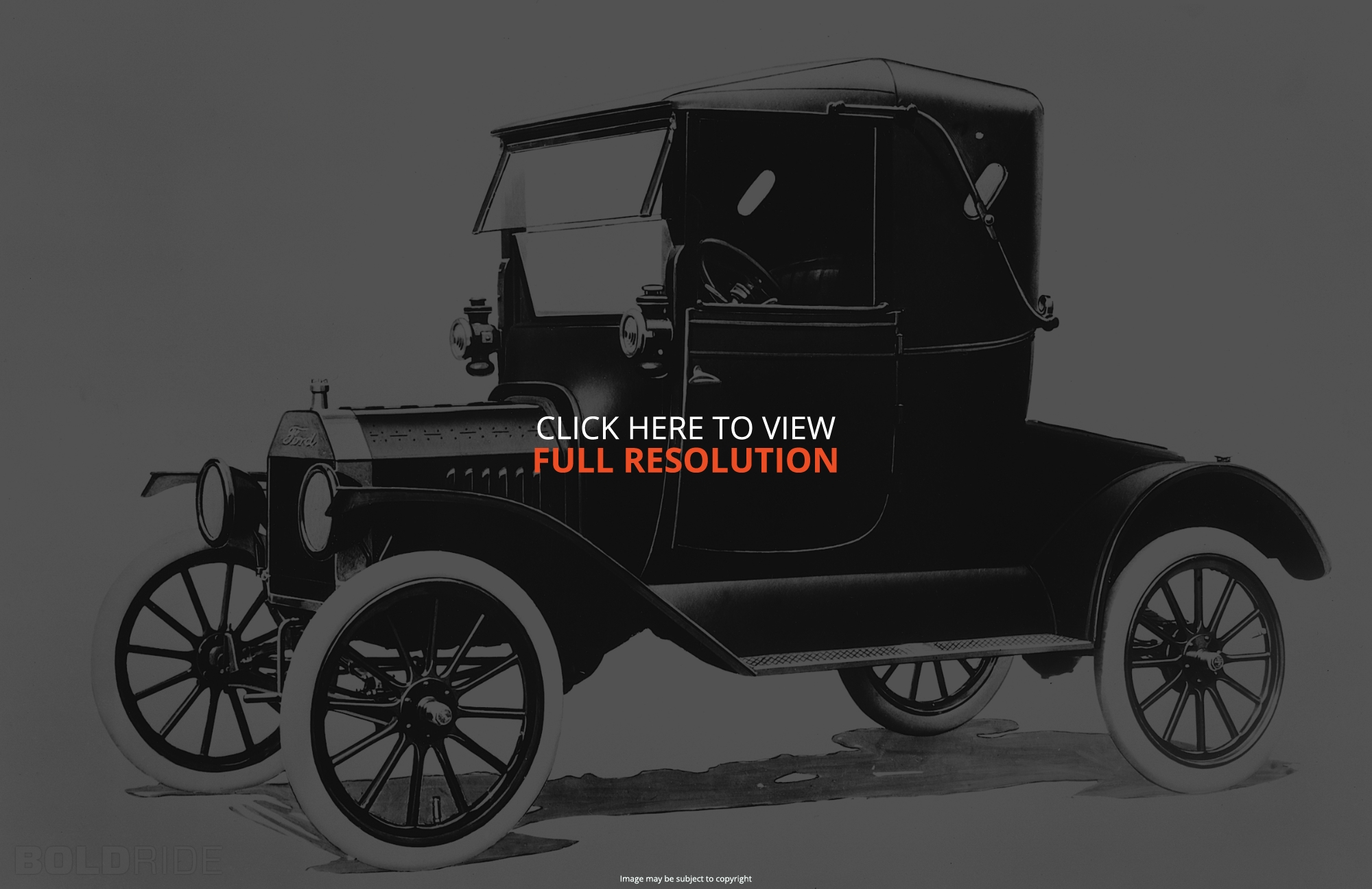 Cars ford model t