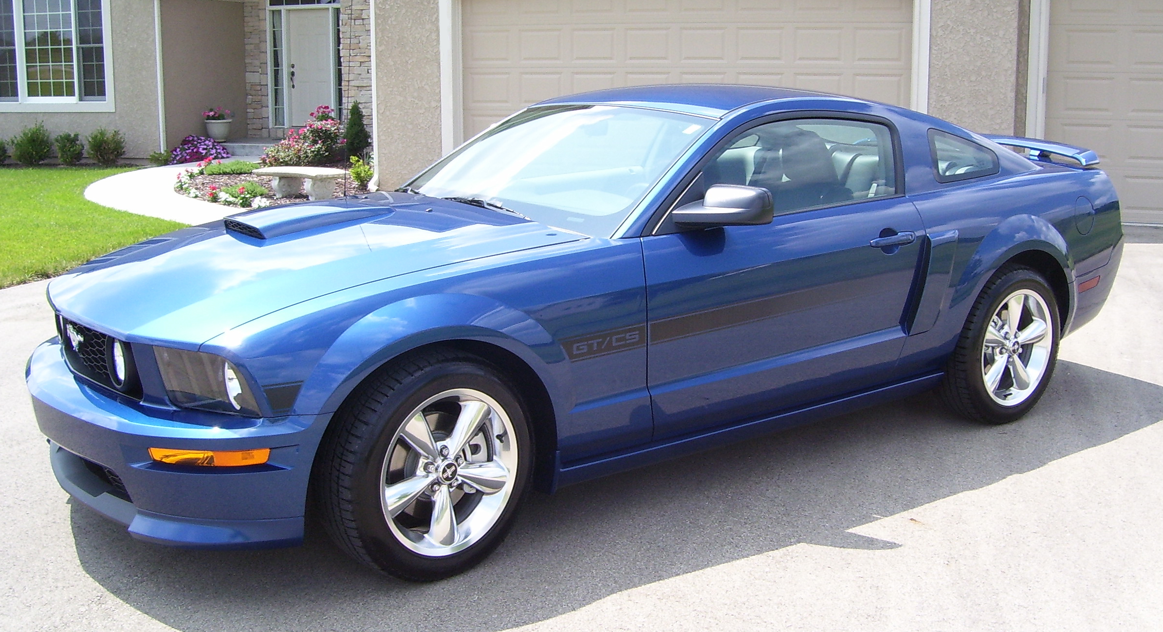 Cars ford mustang v 2007 5
