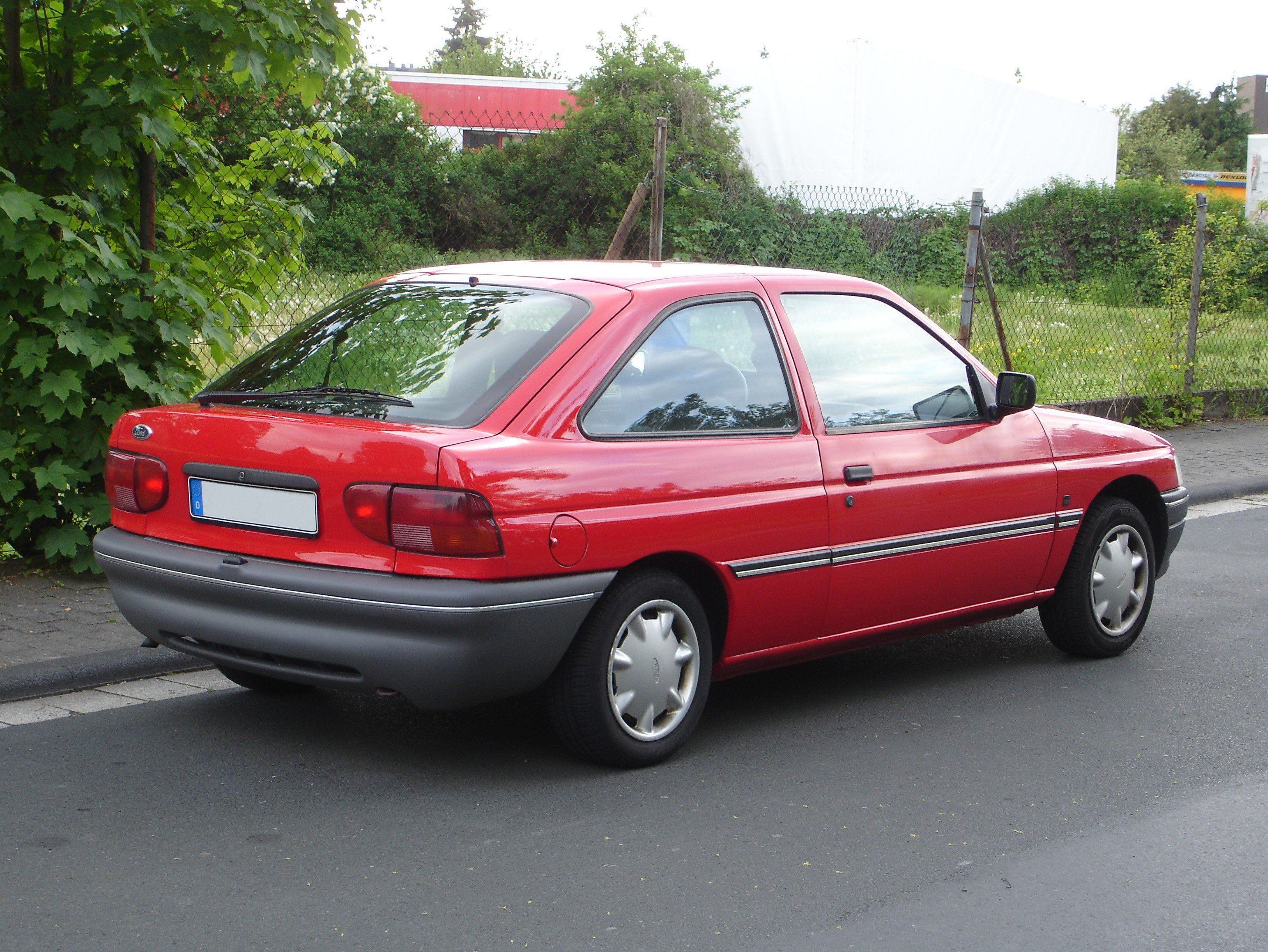1993 Ford Scorpio I Hatch Gge Pictures Information And Specs