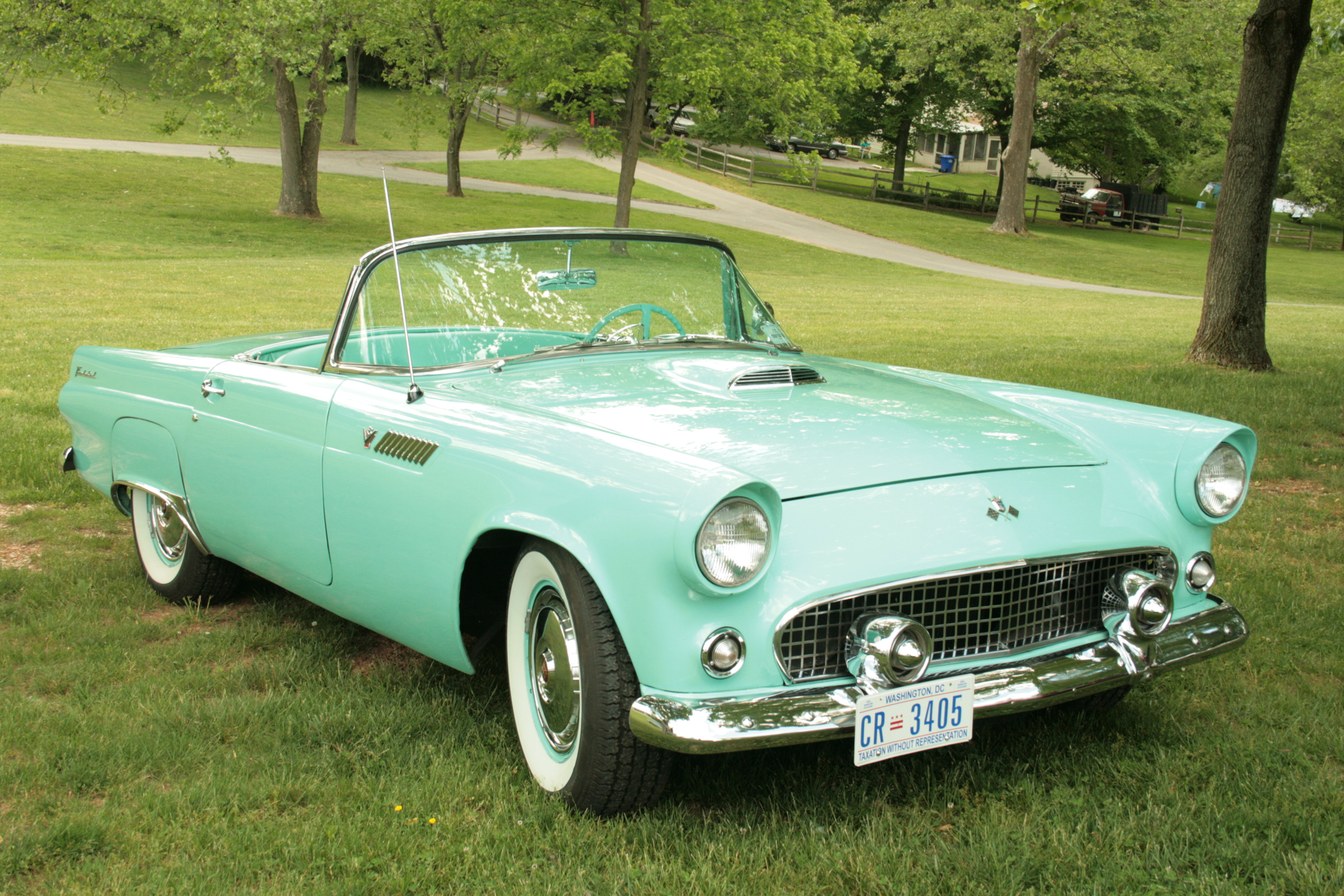 Cars ford thunderbird