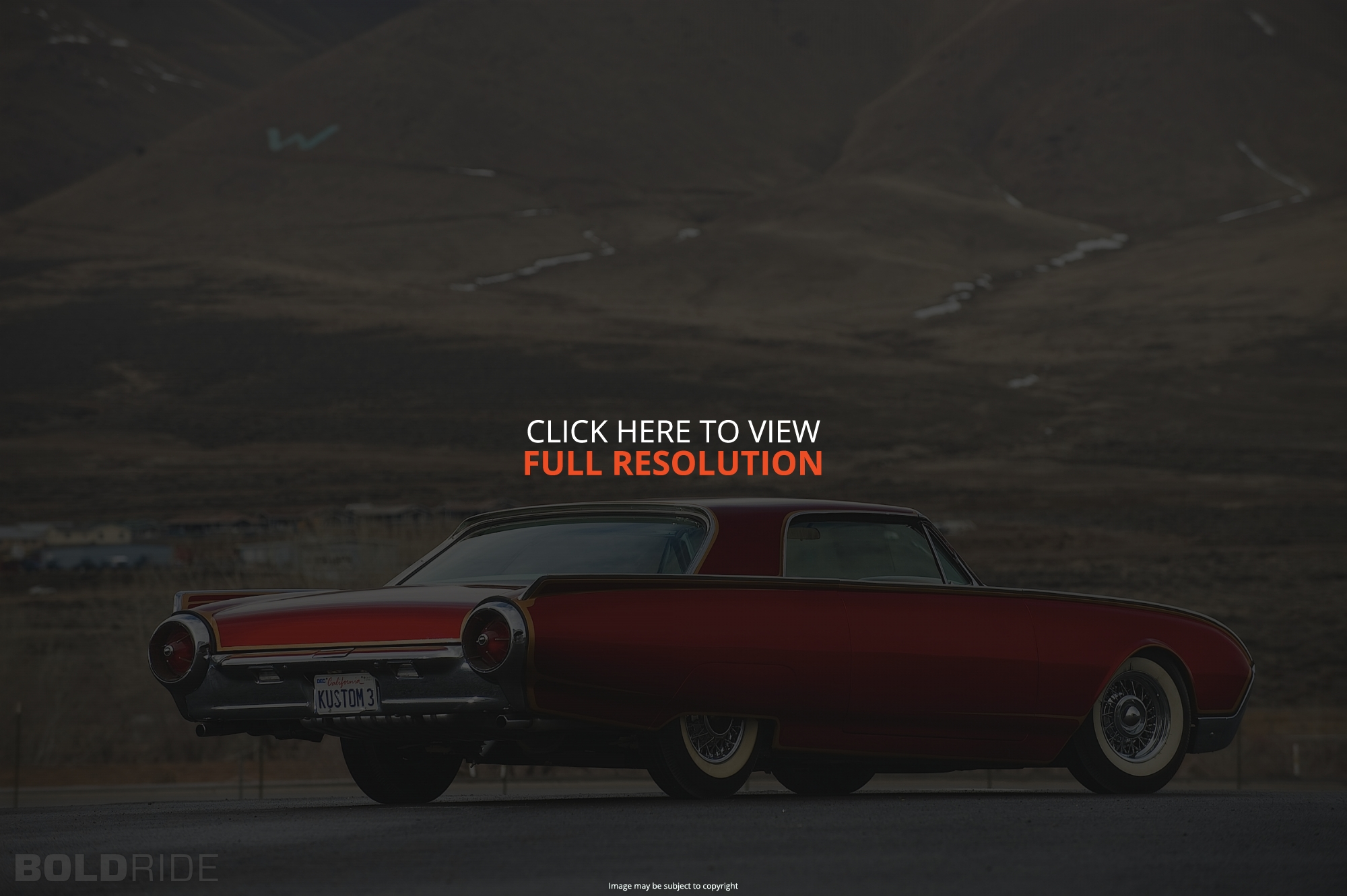 Cars ford thunderbird #10