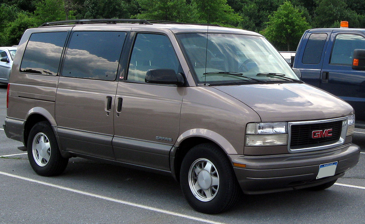Cars gmc safari #7