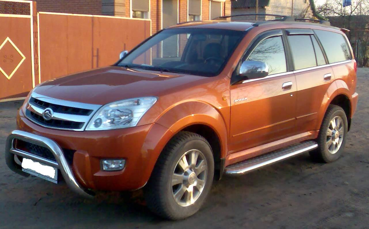 Cars great wall hover 2007