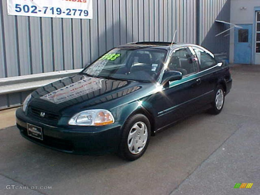 Cars honda civic coupe vi 1997 #8
