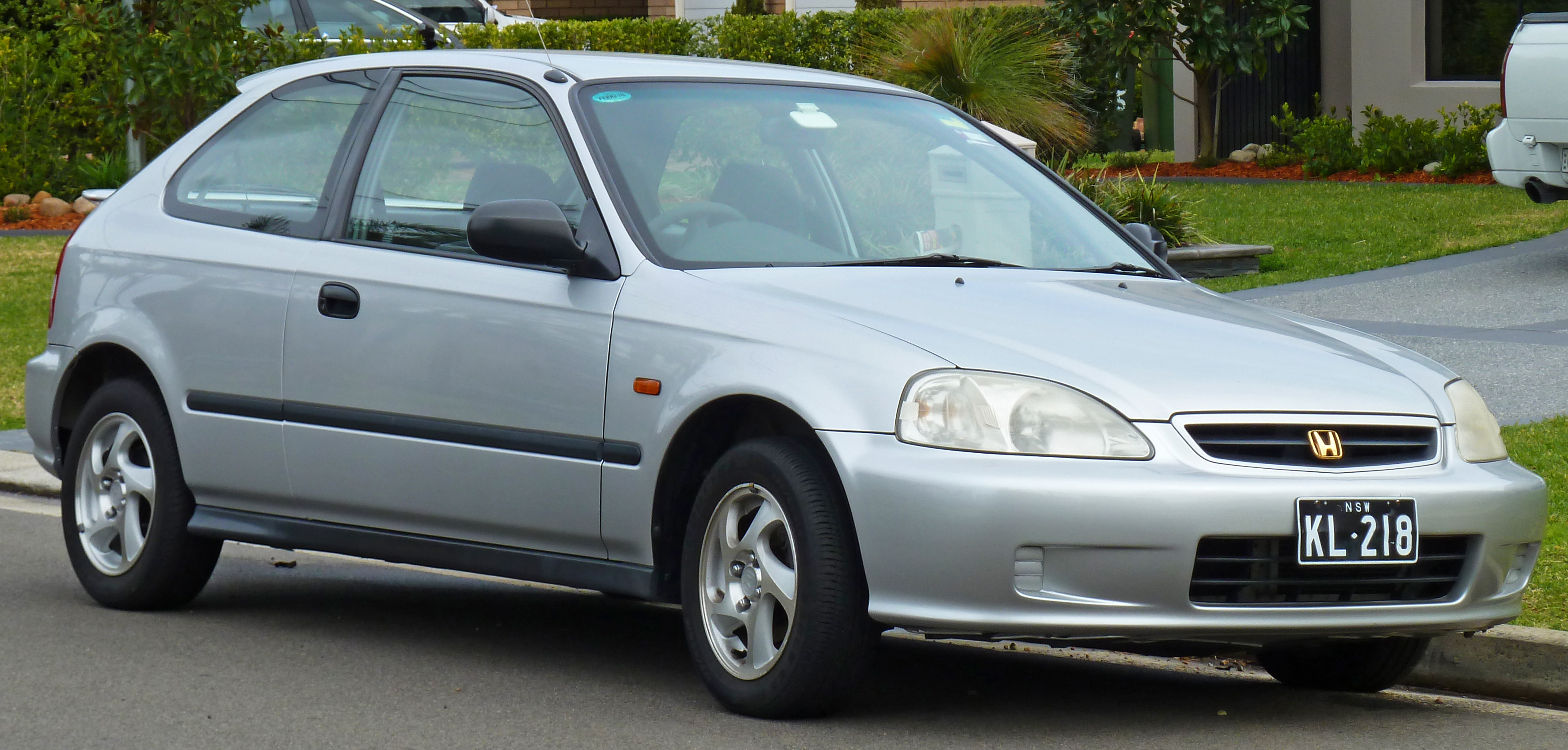 Cars honda civic coupe vi 1998