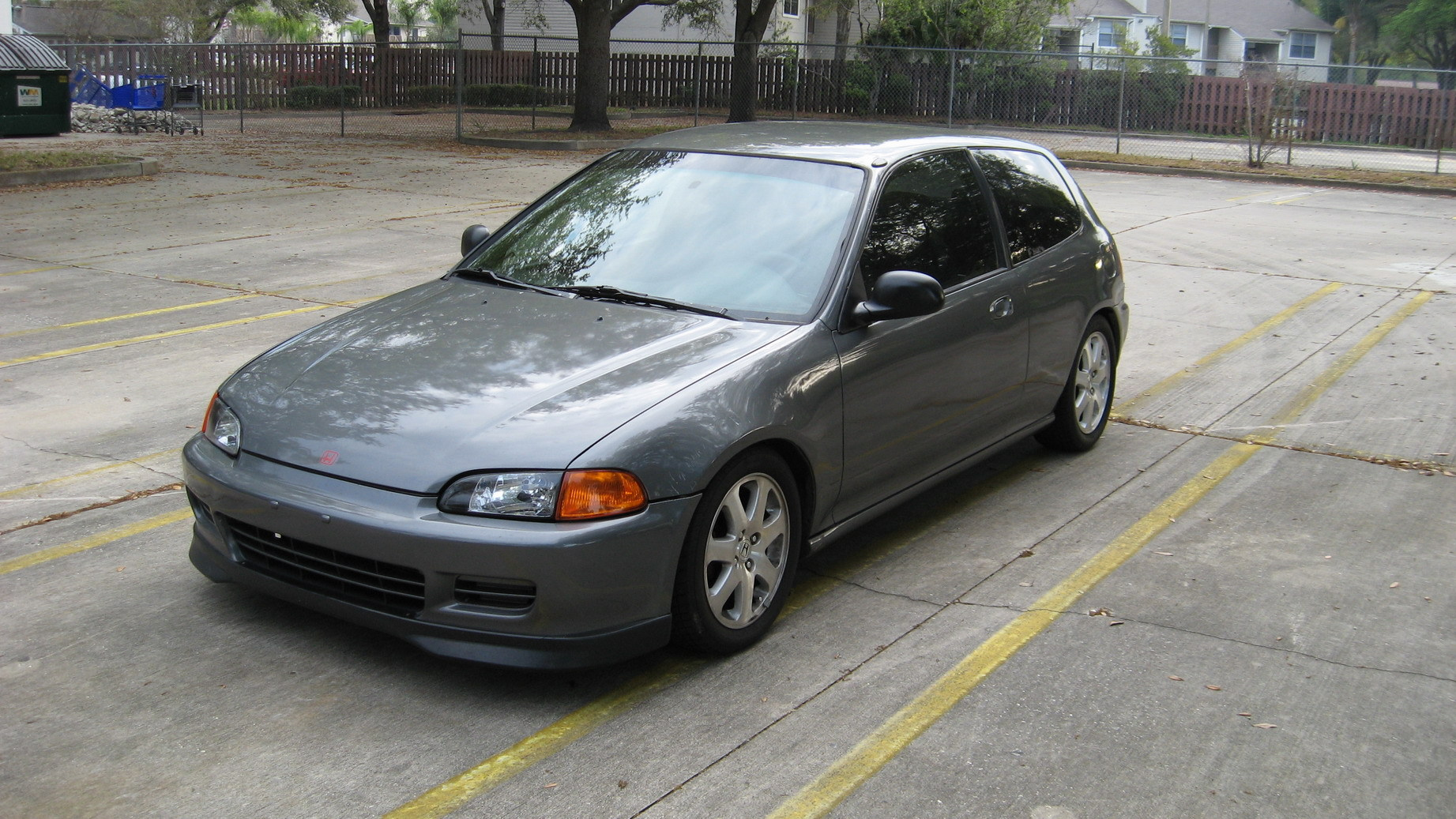 Cars honda civic hatchback v 1992 #13