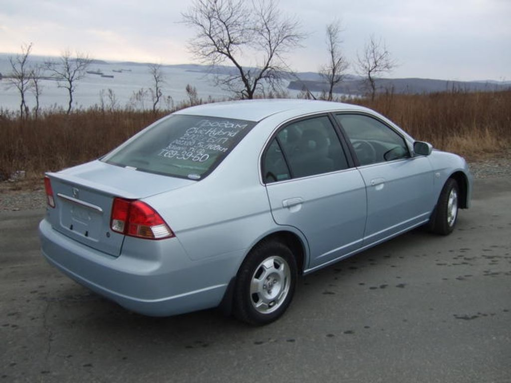 Honda honda civic 2003 hybrid : 2002 Honda Civic hybrid vii – pictures, information and specs ...