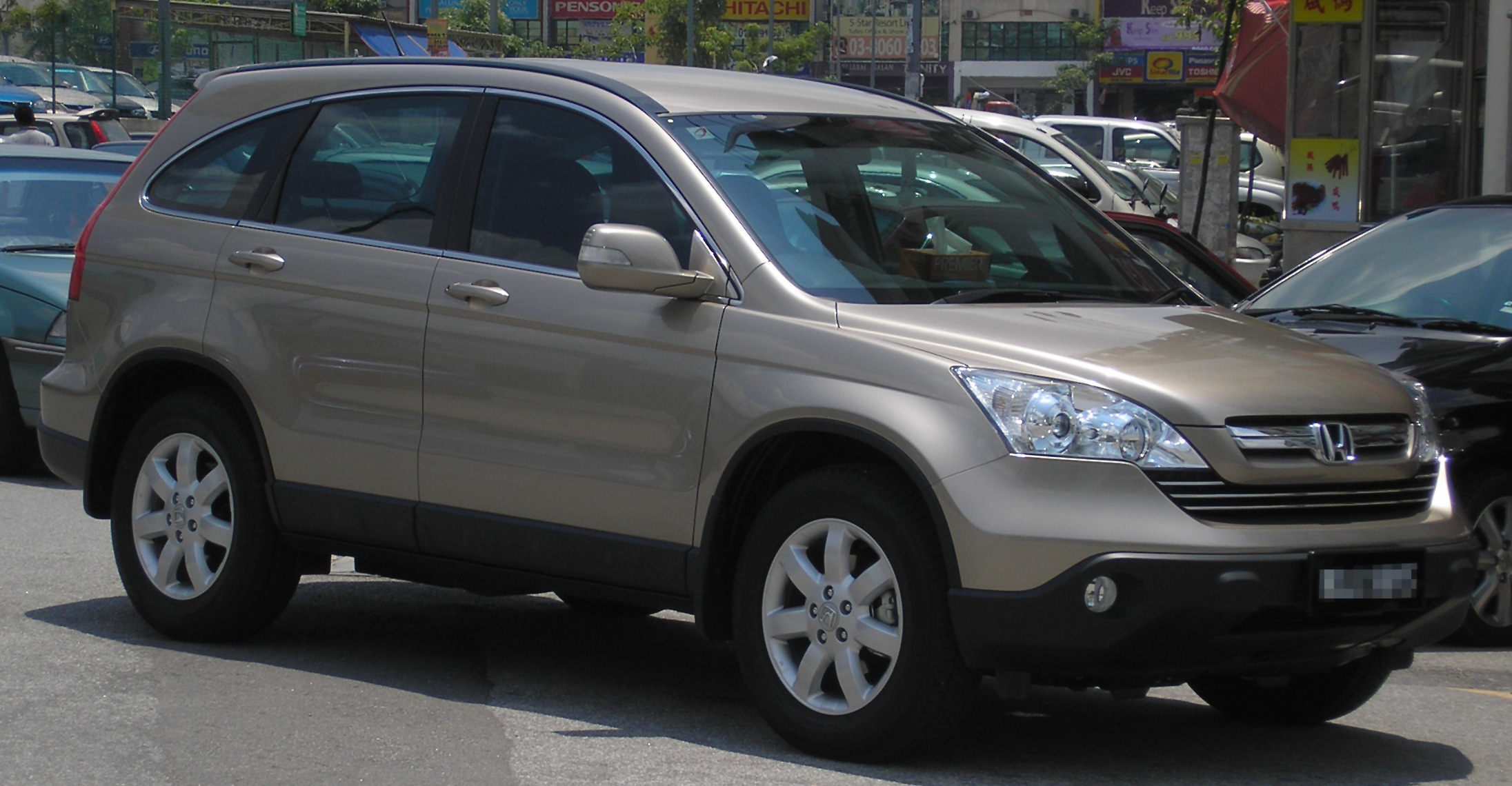 Cars honda cr-v iii (re5) 2014