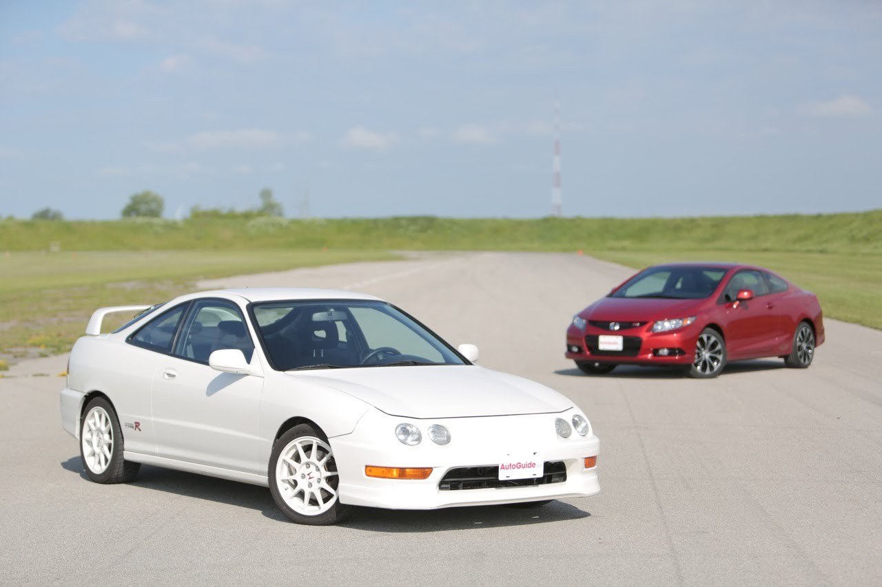 1998 Honda Integra coupe (dc2) – pictures, information and