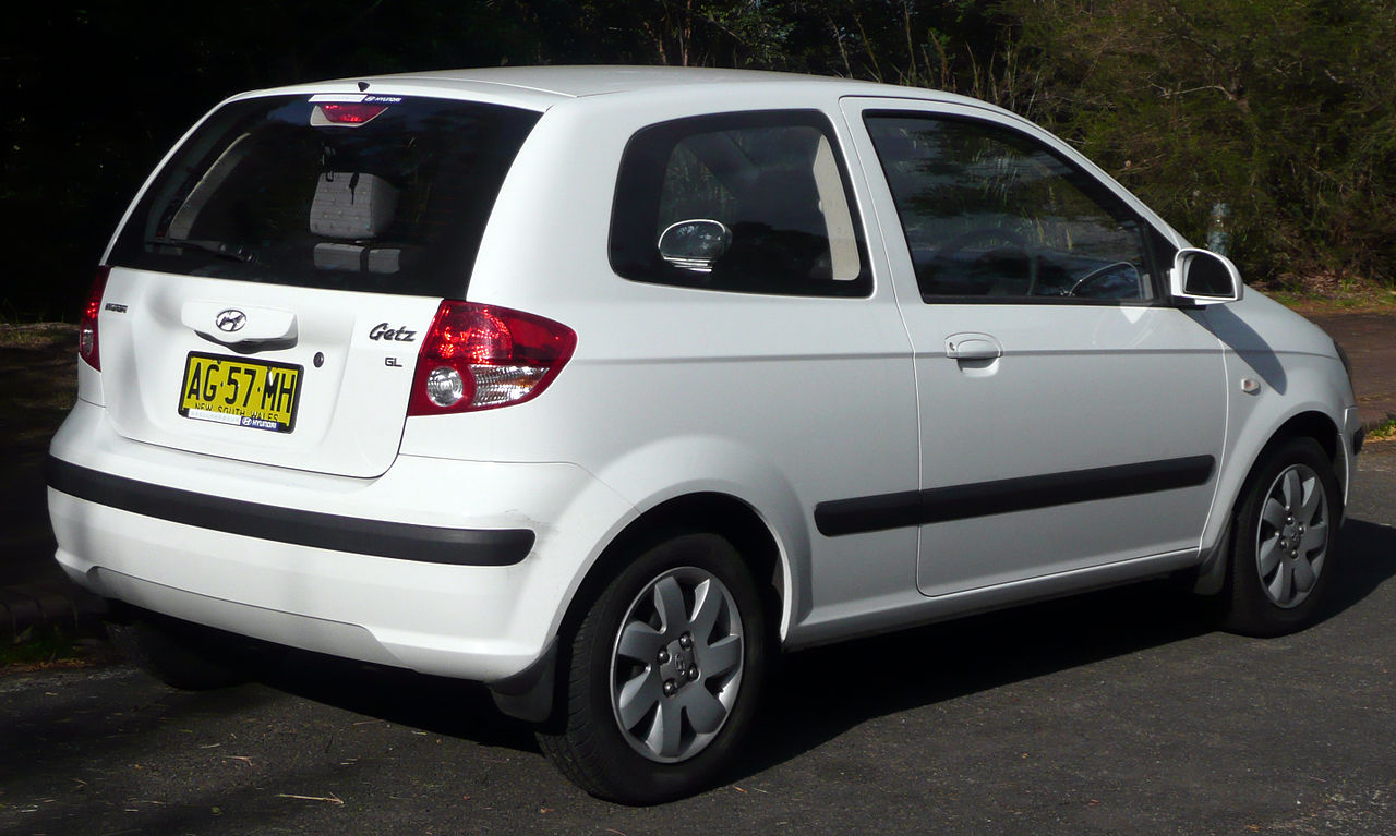 2003 hyundai getz pictures information and specs auto. Black Bedroom Furniture Sets. Home Design Ideas