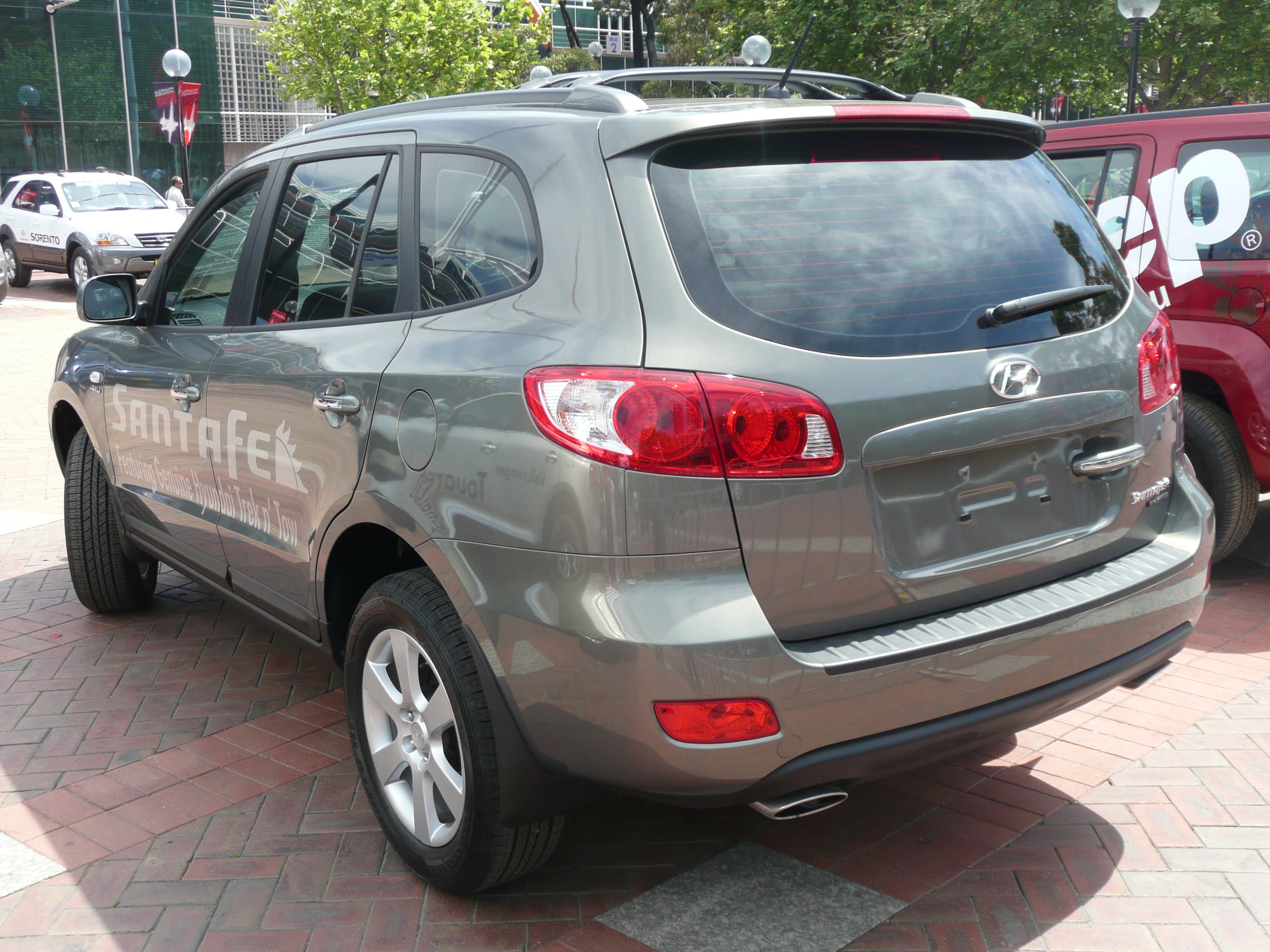 2008 hyundai santa fe ii pictures information and specs auto. Black Bedroom Furniture Sets. Home Design Ideas