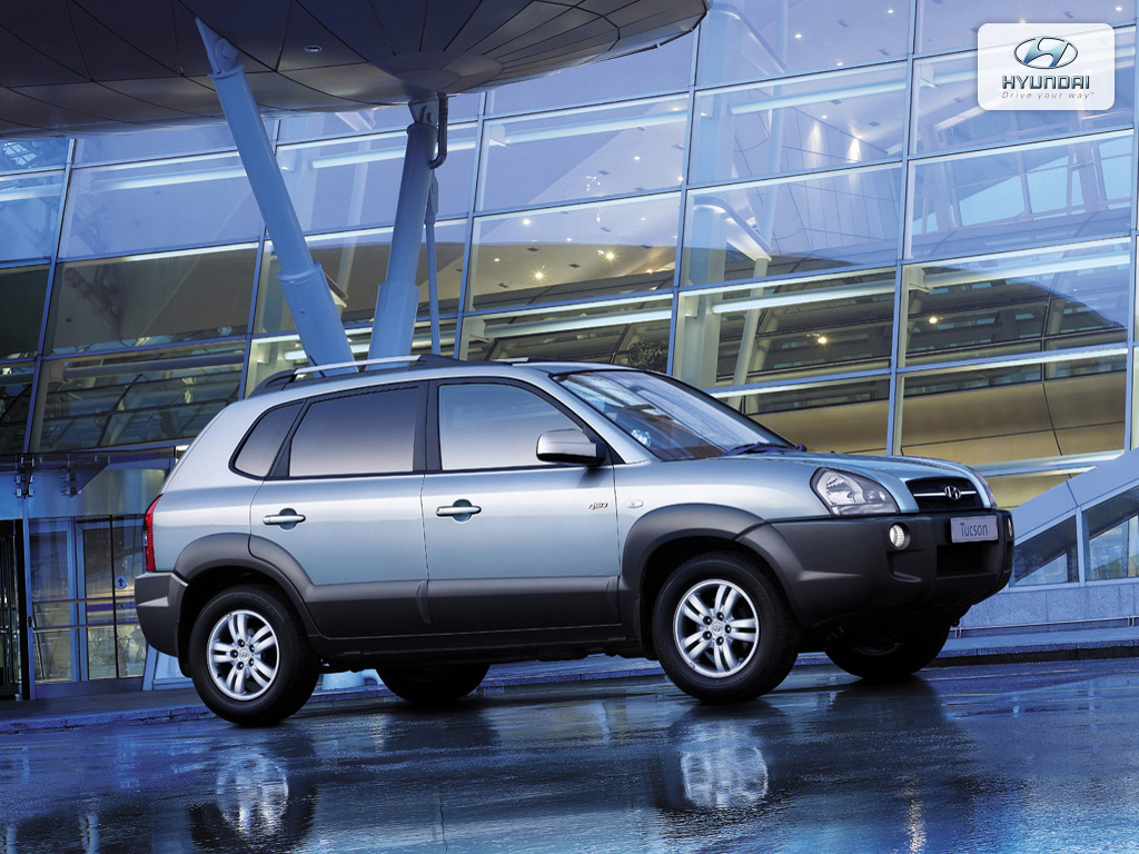 2008 Hyundai Tucson Pictures Information And Specs