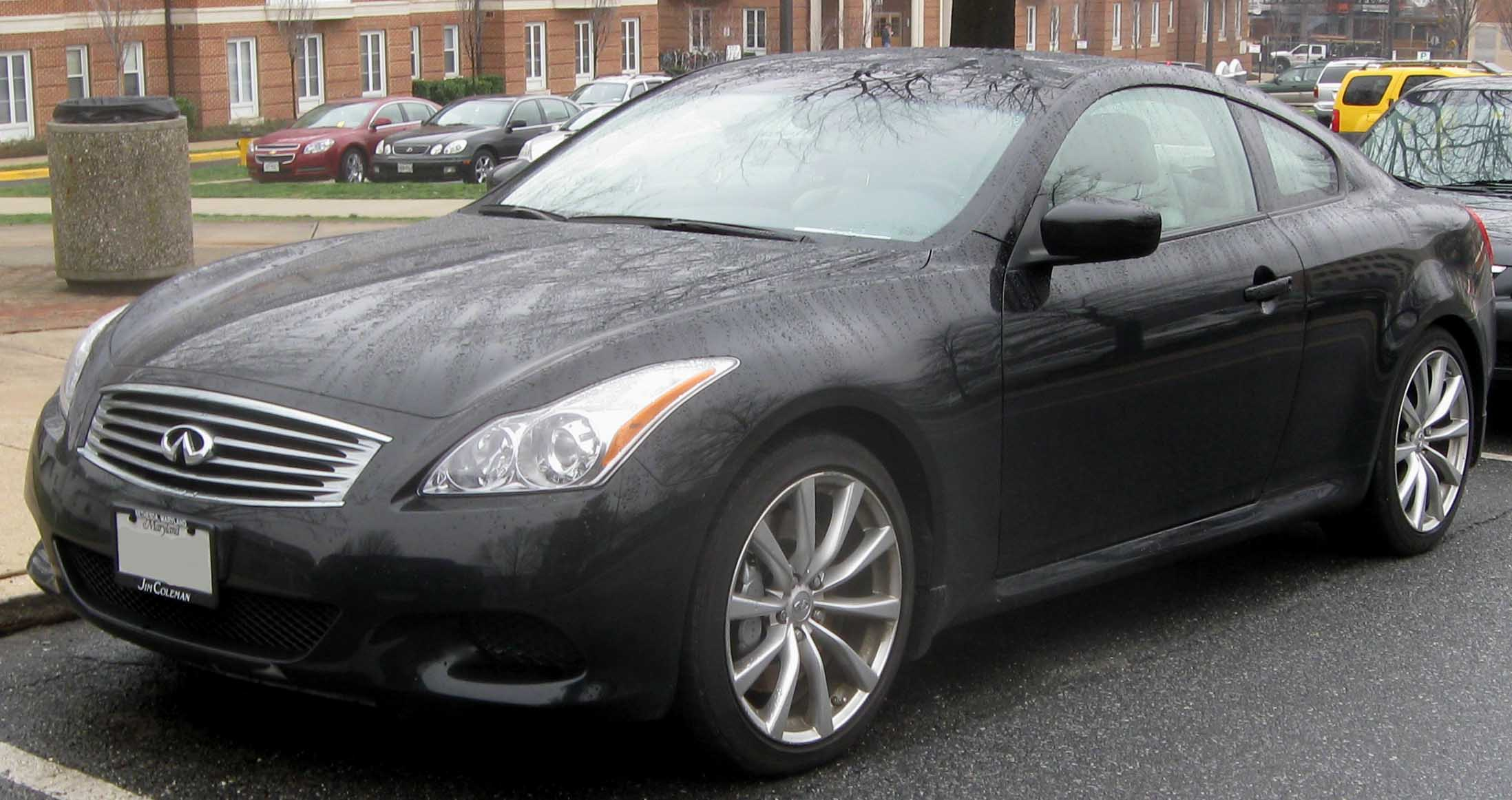 2009 Infiniti G37 coupe – pictures, information and specs - Auto ...