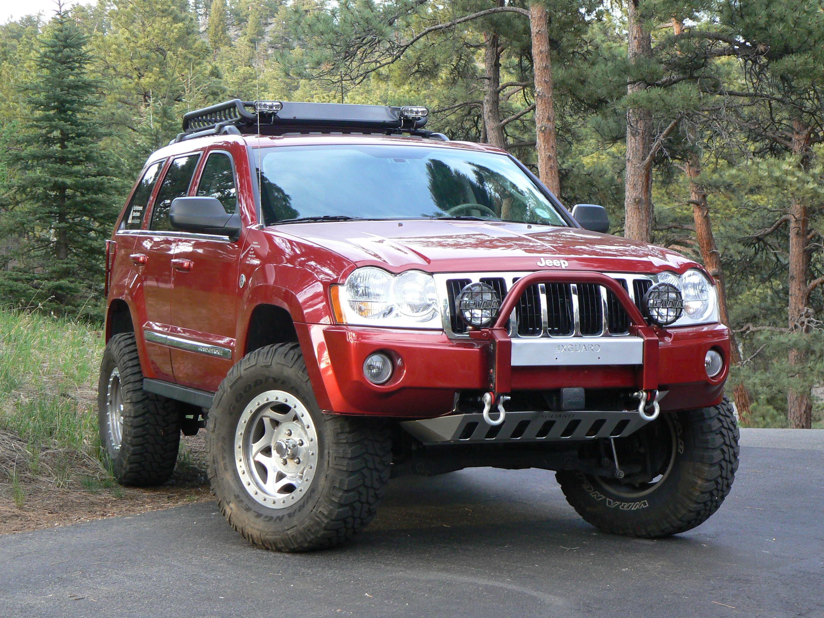 Cars Jeep Grand Cherokee (wk) 2004 #13