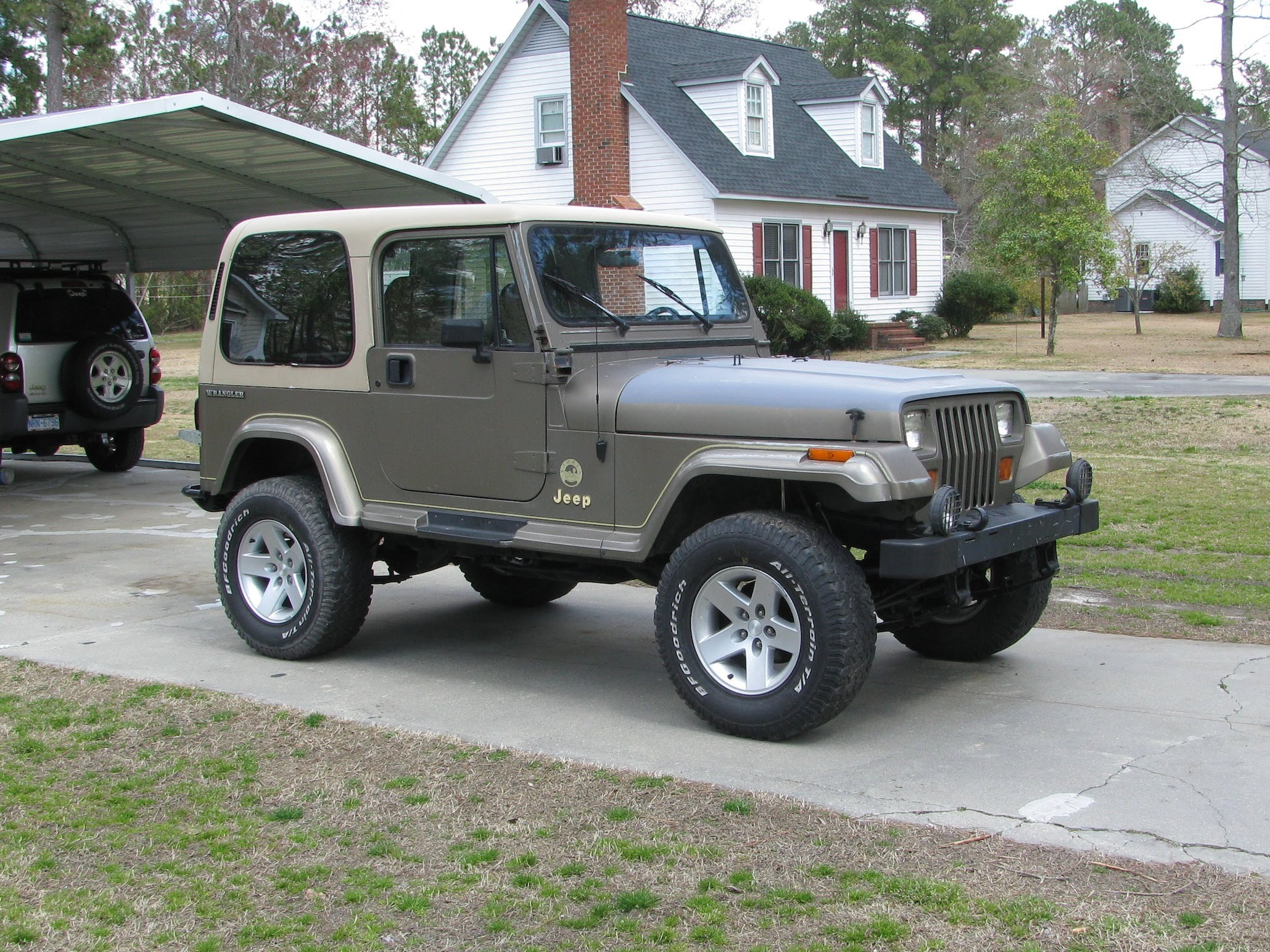 1991 Jeep Wrangler I Pictures Information And Specs