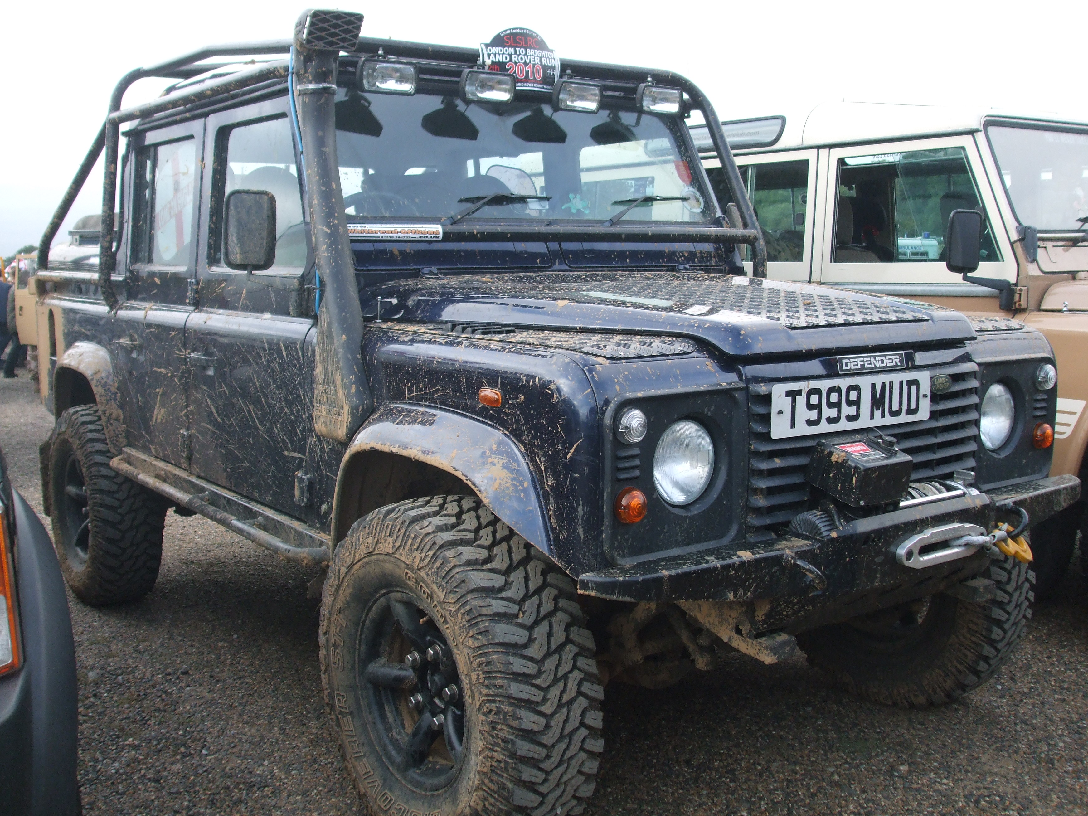 2003 Land Rover Defender 130 Pictures Information And