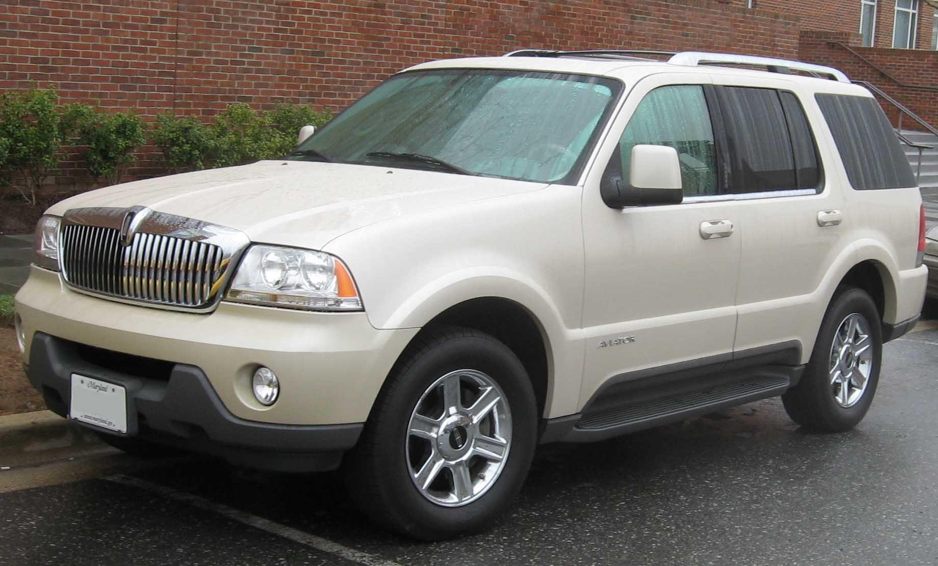 Cars lincoln aviator