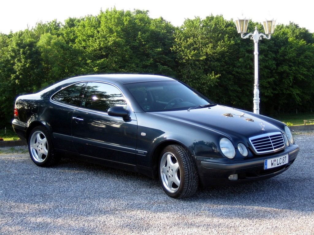 Cars mercedes clk #11