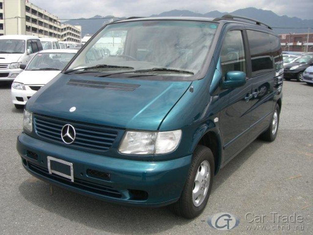 2000 mercedes vito i pictures information and specs auto. Black Bedroom Furniture Sets. Home Design Ideas