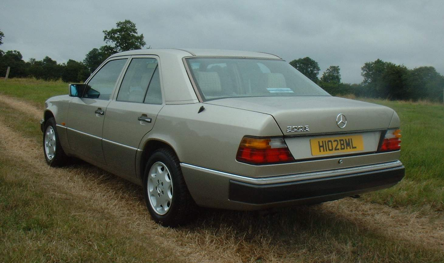 Cars mercedes w124 coupe 1991