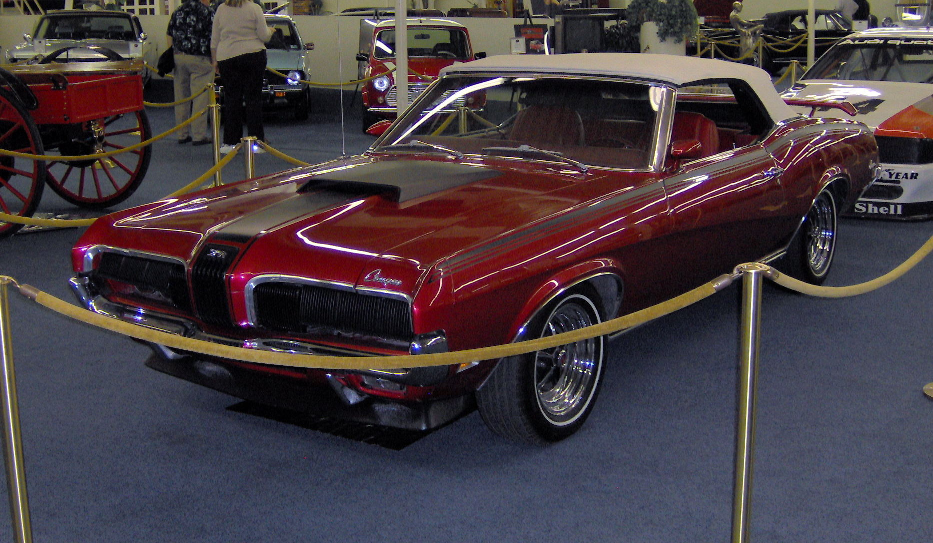 Cars mercury cougar