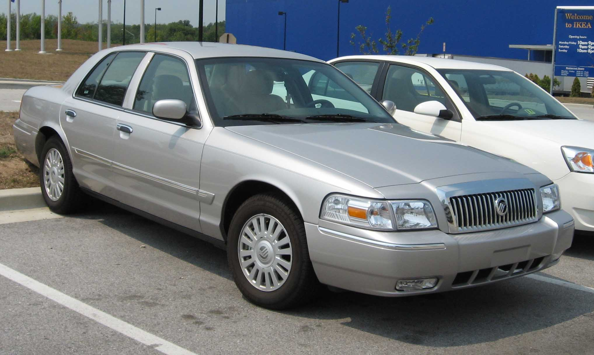 Cars mercury grand marquis #9