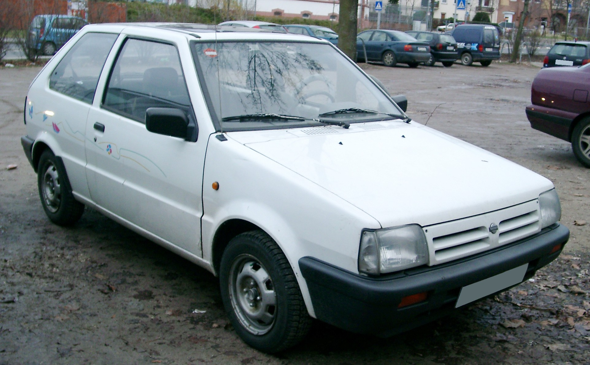 Cars nissan micra (k10) 1991 #1