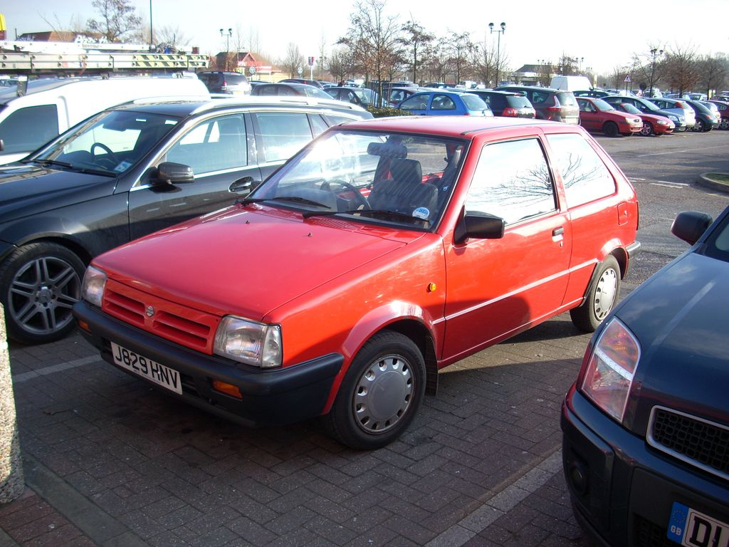 Cars nissan micra (k10) 1991 #9