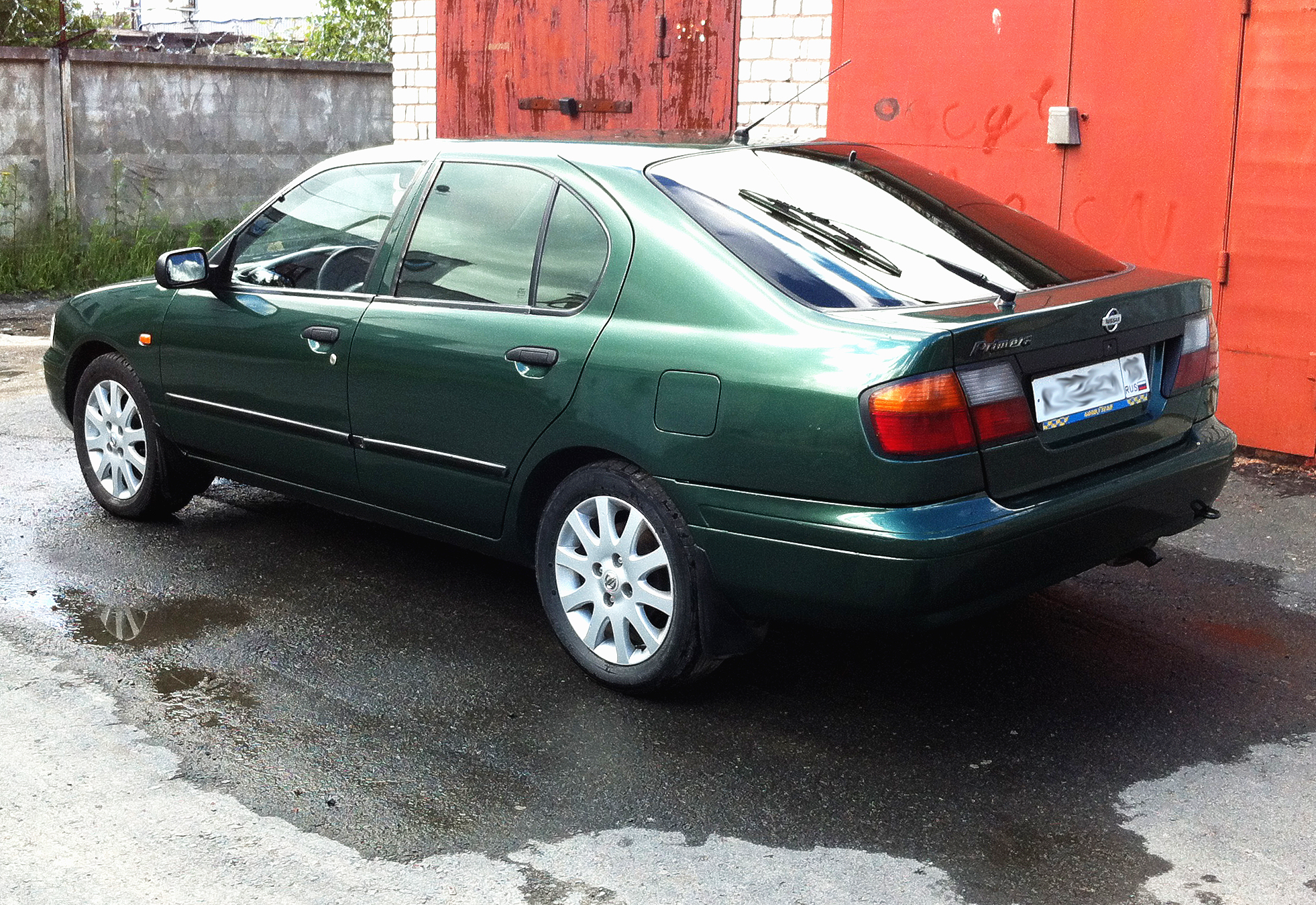 1998 Nissan Primera P11 Pictures Information And
