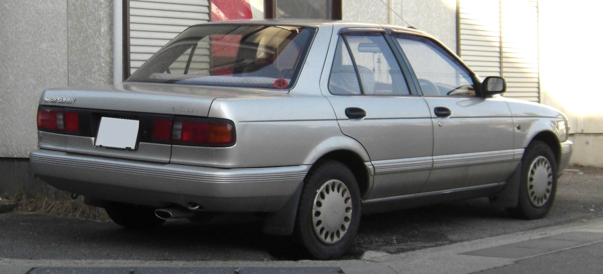 1990 Nissan Sunny iii (b13) – pictures, information and ...