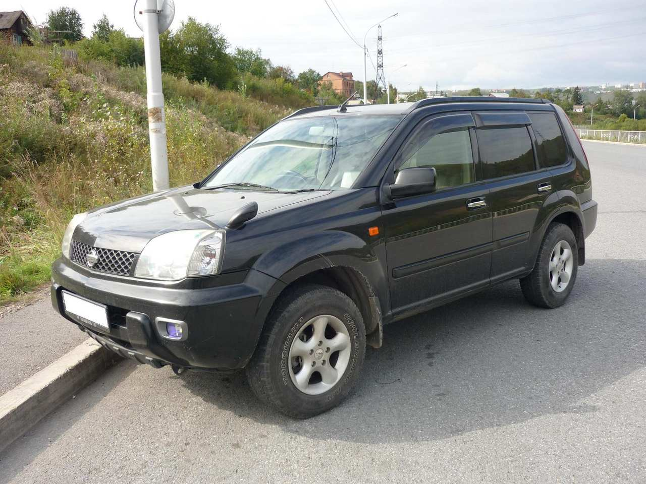 Cars nissan x-trail 2003