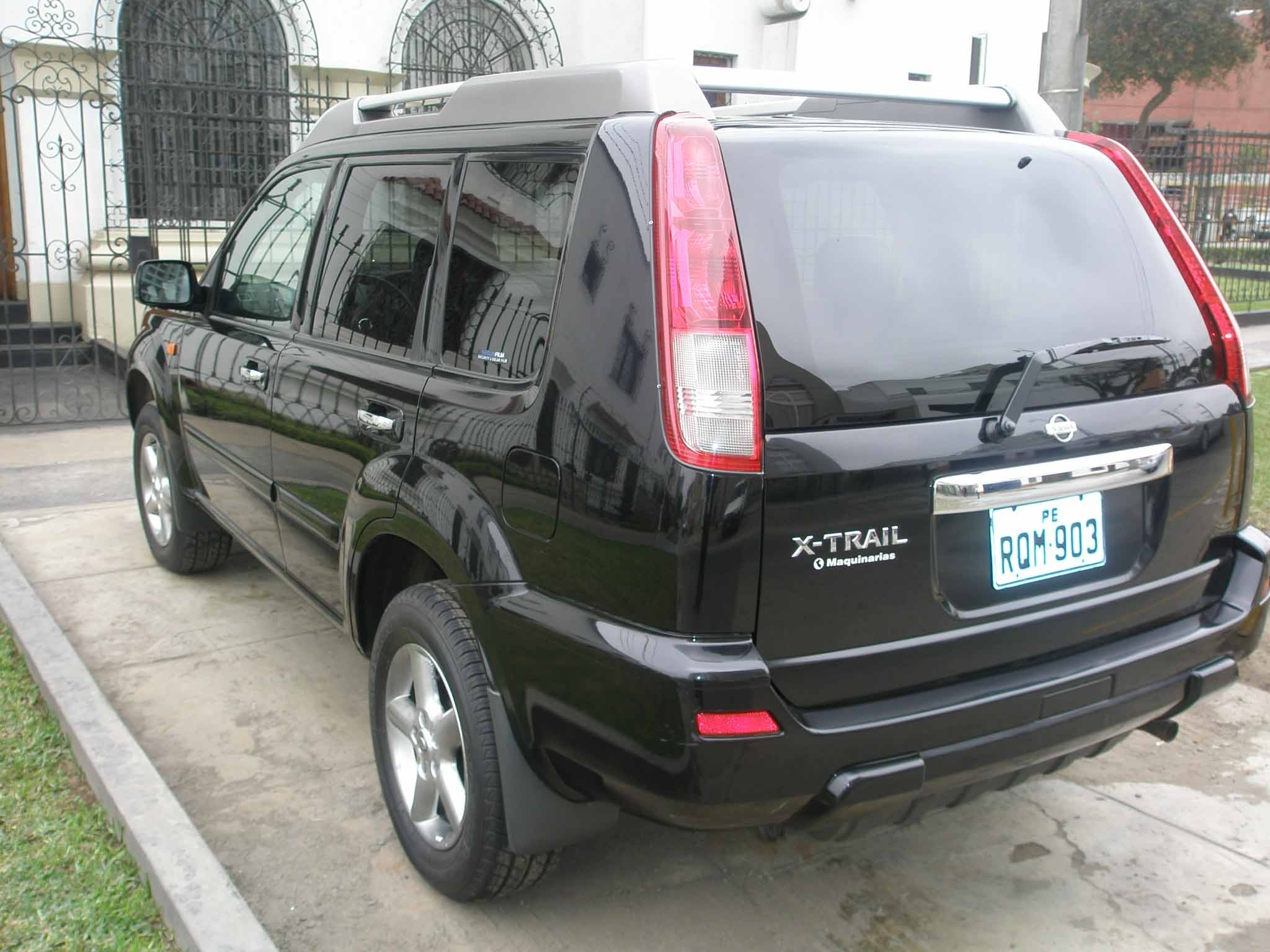 2004 nissan x trail pictures information and specs auto. Black Bedroom Furniture Sets. Home Design Ideas