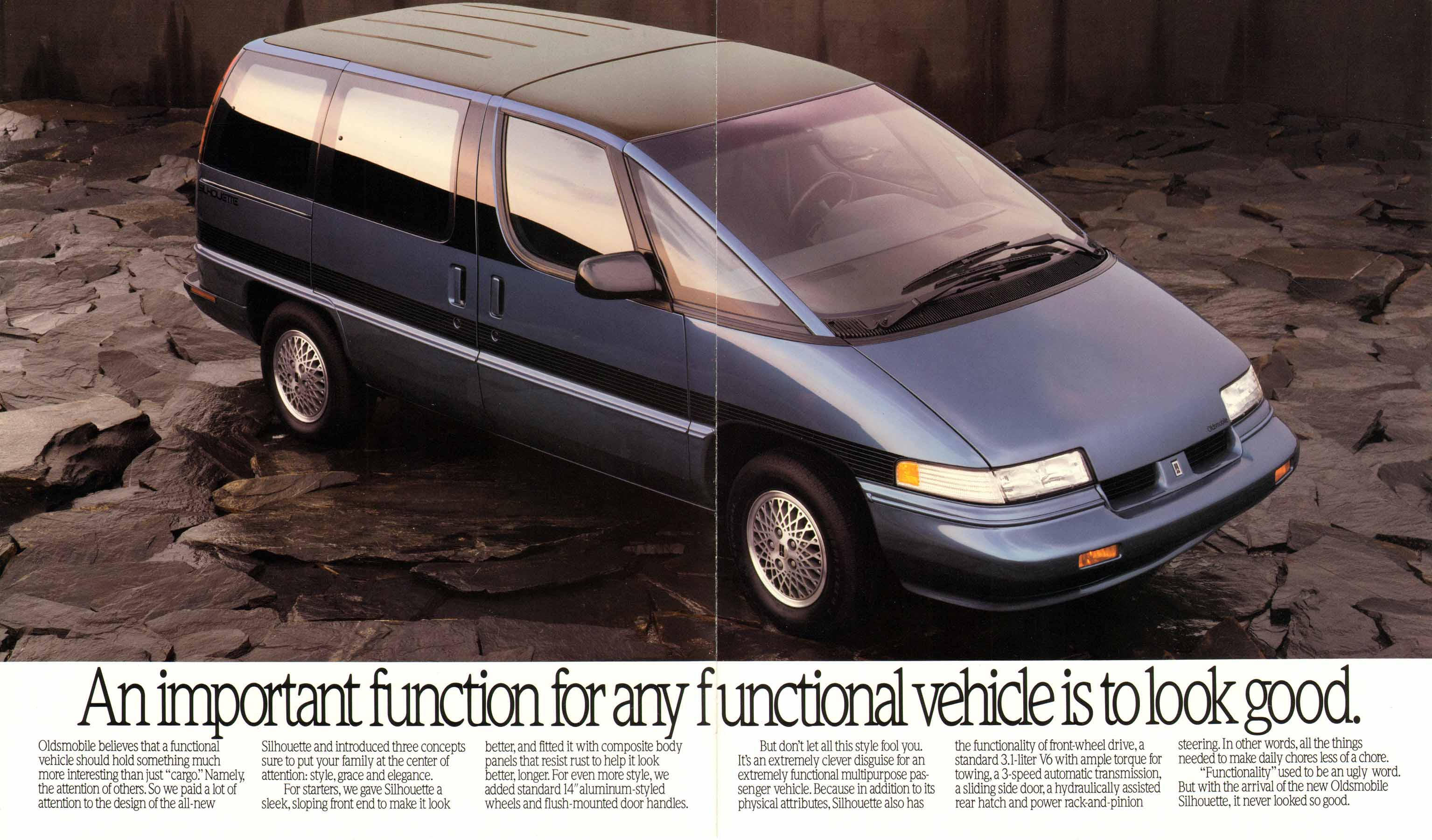 1993 Oldsmobile Silhouette   pictures, information and specs