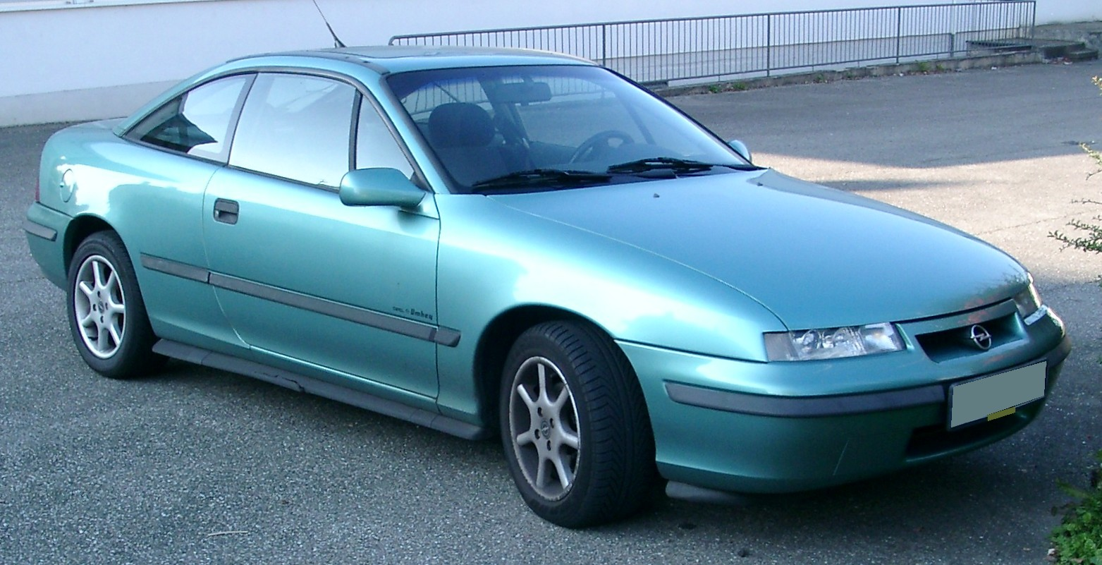 Cars opel calibra a 1993 #7
