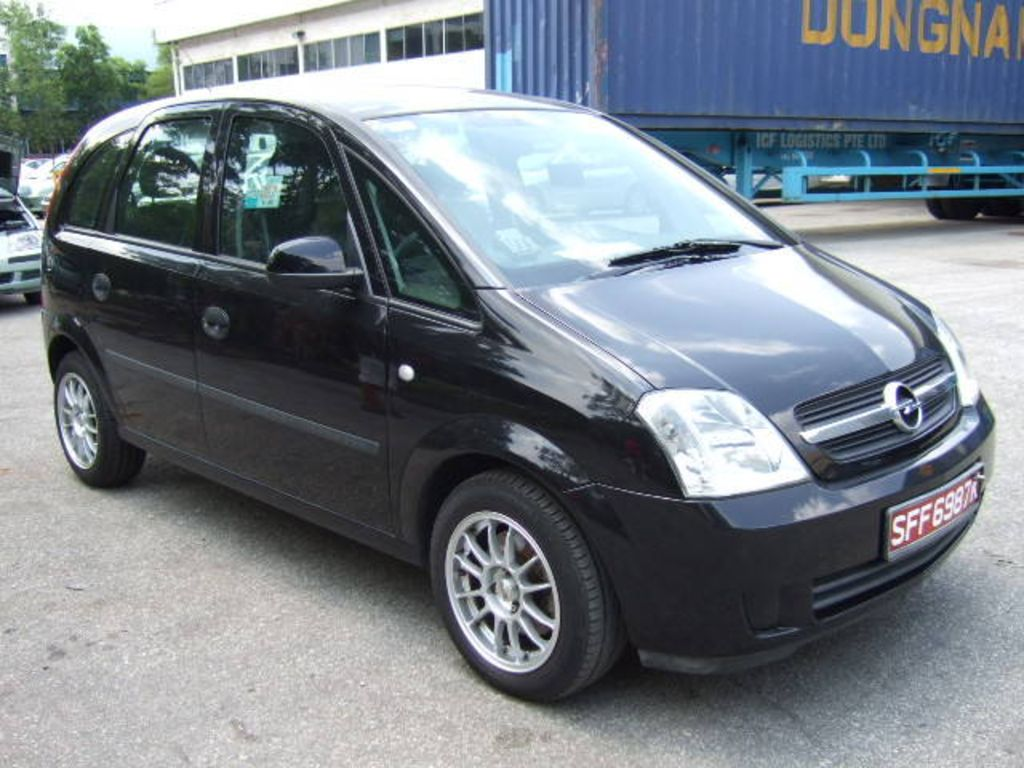 2005 opel meriva a pictures information and specs auto. Black Bedroom Furniture Sets. Home Design Ideas