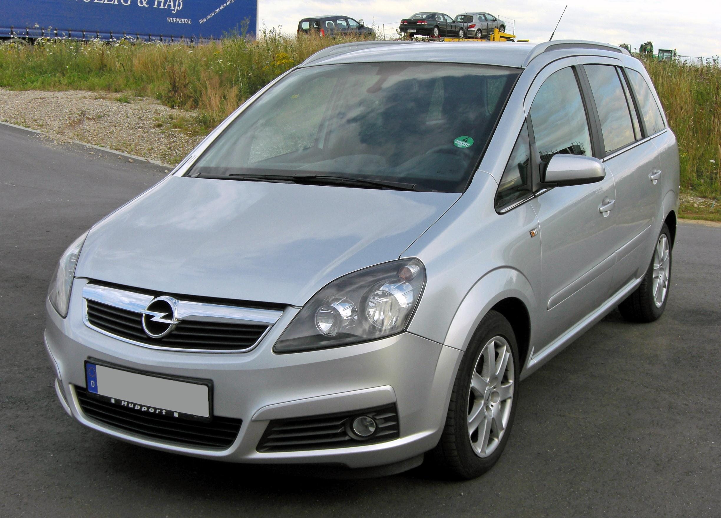 2007 opel zafira b pictures information and specs auto. Black Bedroom Furniture Sets. Home Design Ideas