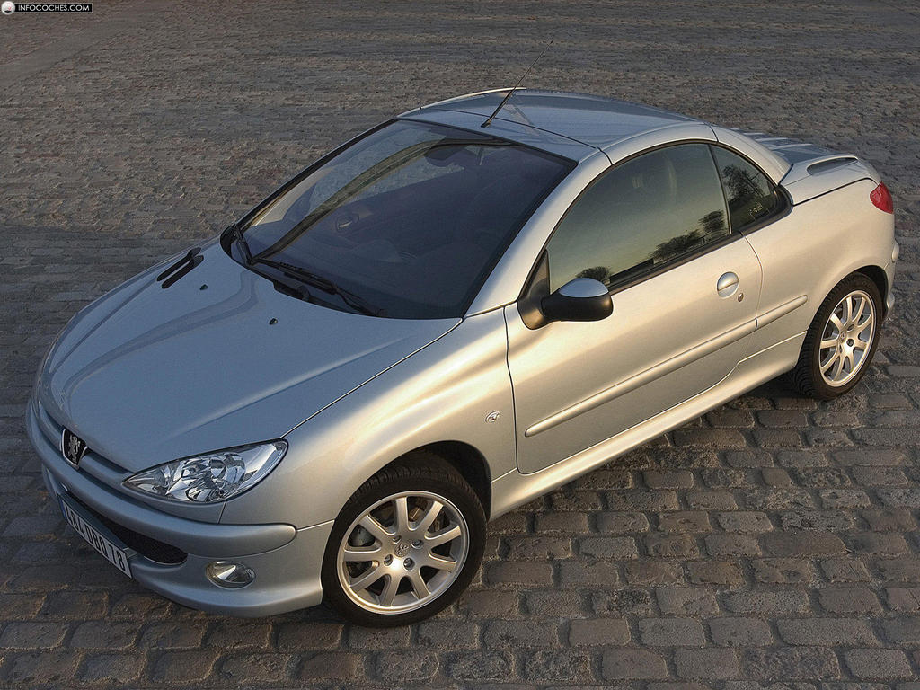 2005 peugeot 206 cc pictures information and specs. Black Bedroom Furniture Sets. Home Design Ideas