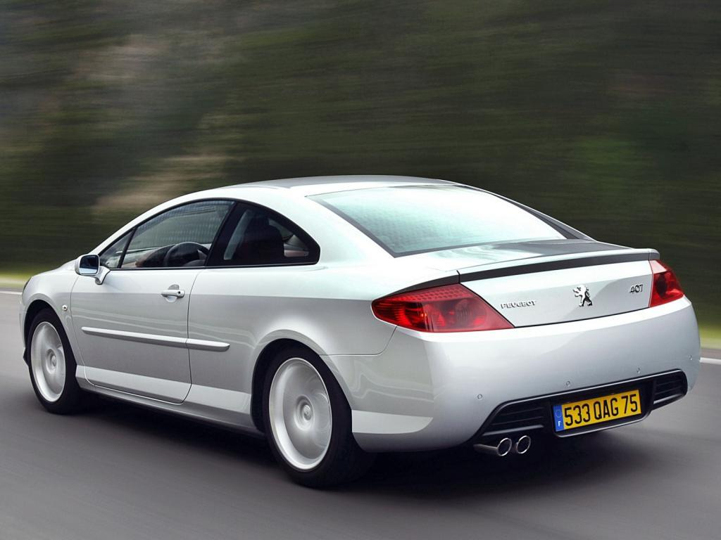 2007 peugeot 407 coupe pictures information and specs auto. Black Bedroom Furniture Sets. Home Design Ideas