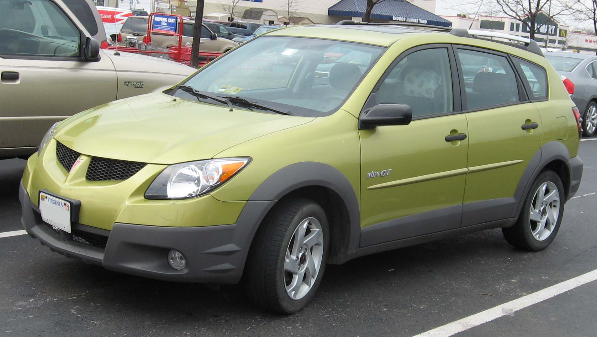 Pontiac Vibe   pictures, information and specs - Auto-Database.com