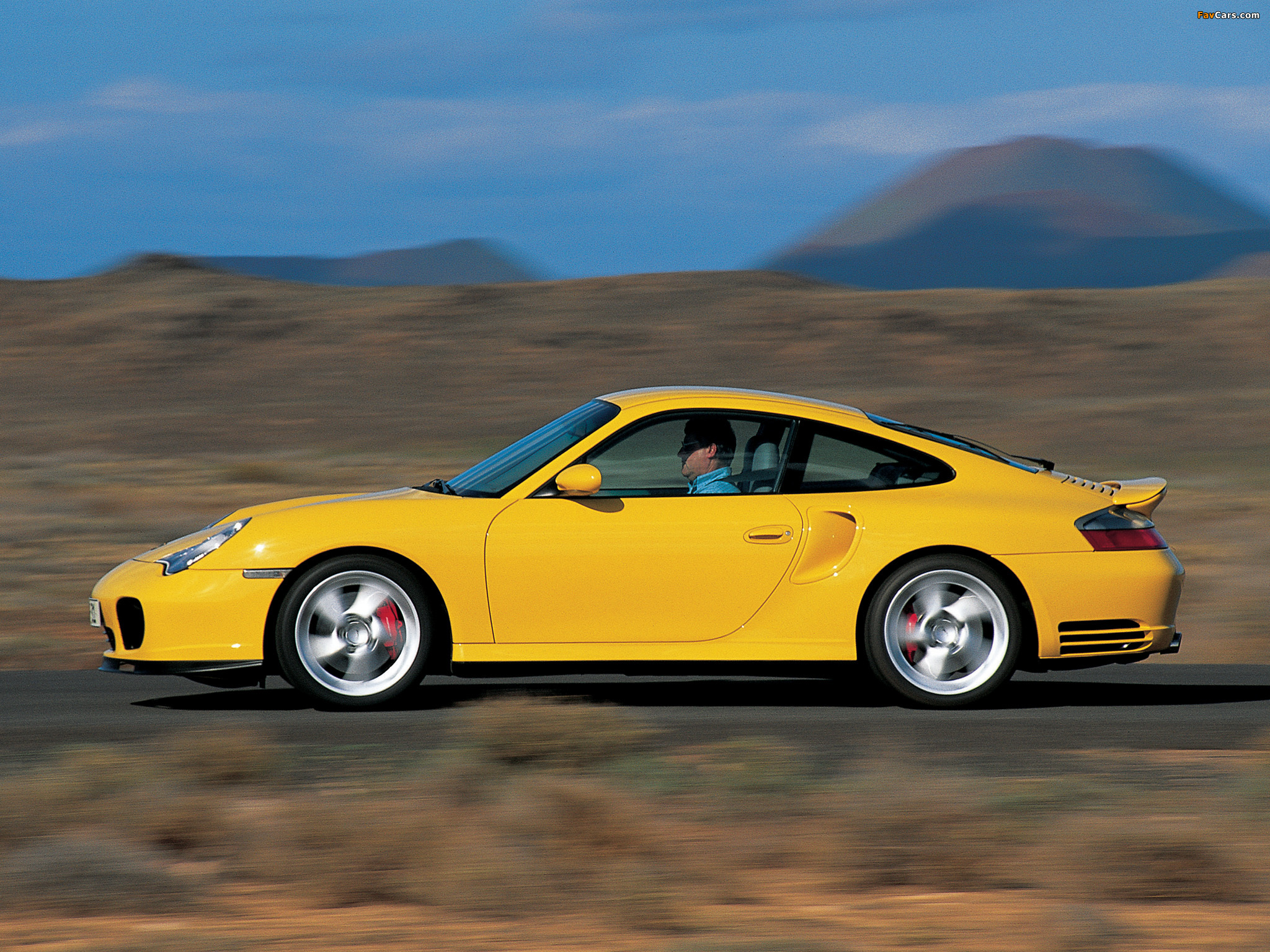 Cars porsche 911 turbo (996) 2000 #10
