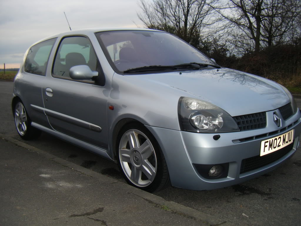 2002 renault clio ii sport pictures information and specs auto. Black Bedroom Furniture Sets. Home Design Ideas