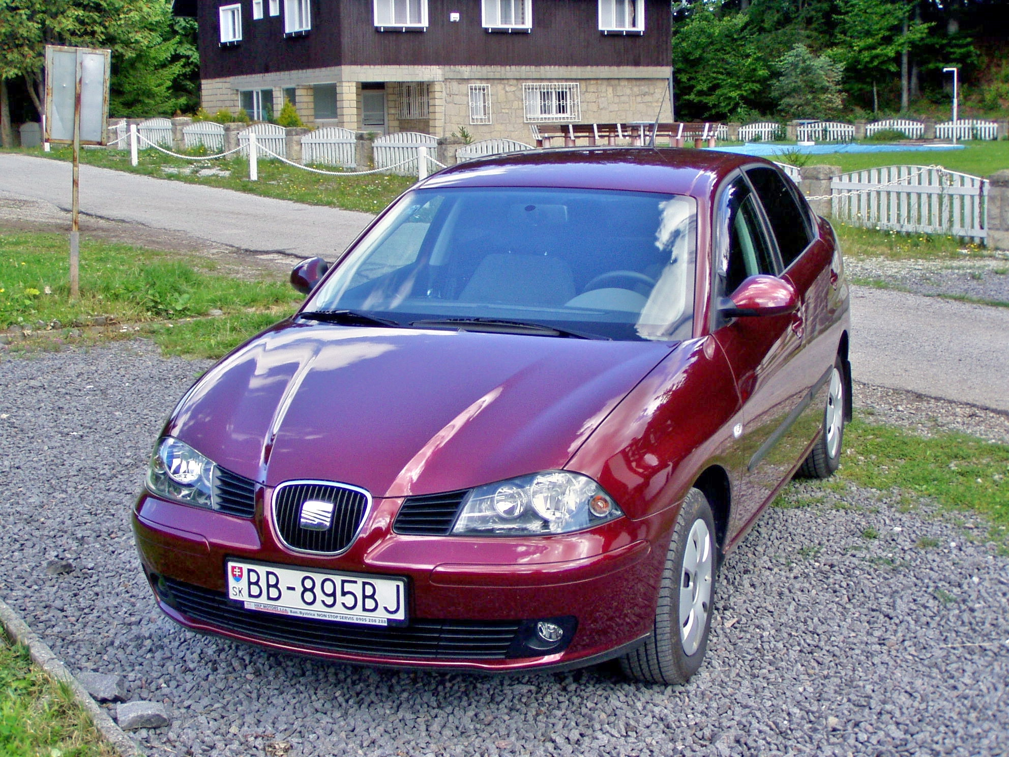 Cars seat cordoba sedan ii 2005